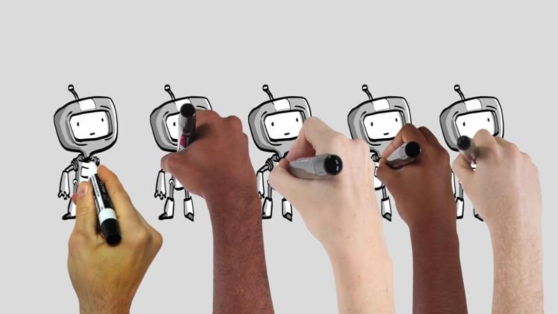 Fcpx插件 688个卡通手绘白板风格动画  Stupid Raisins Story Pop