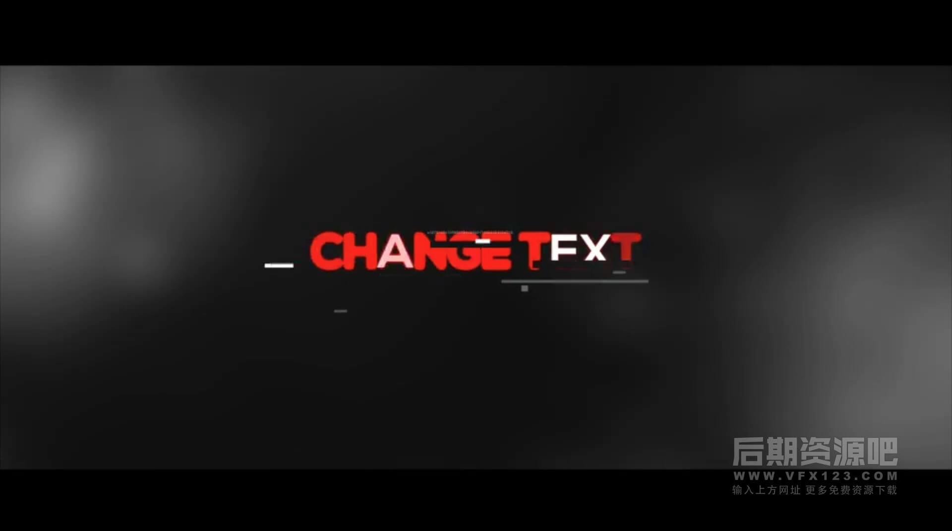 Fcpx标题插件 20组信号故障干扰马赛克效果 Vlog常用标题模板