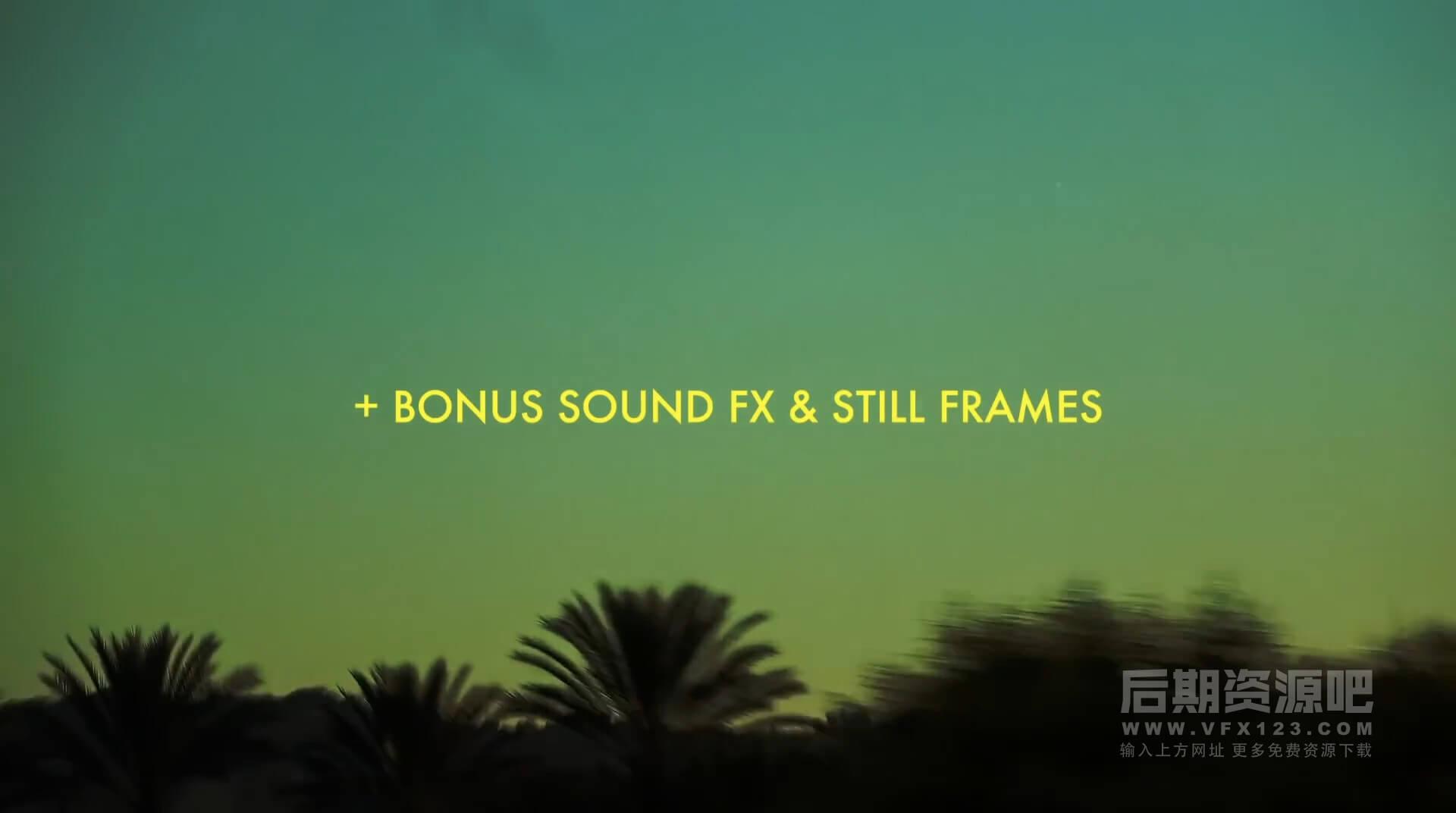 视频素材 20个4K电影胶片颗粒噪点质感纹理叠加效果 Super 8mm