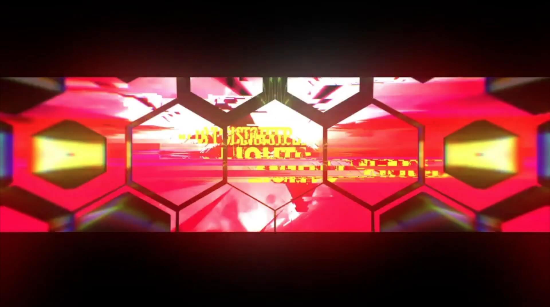 视频素材 52个炫酷动感干扰故障效果光效VJ俱乐部大屏幕背景素材