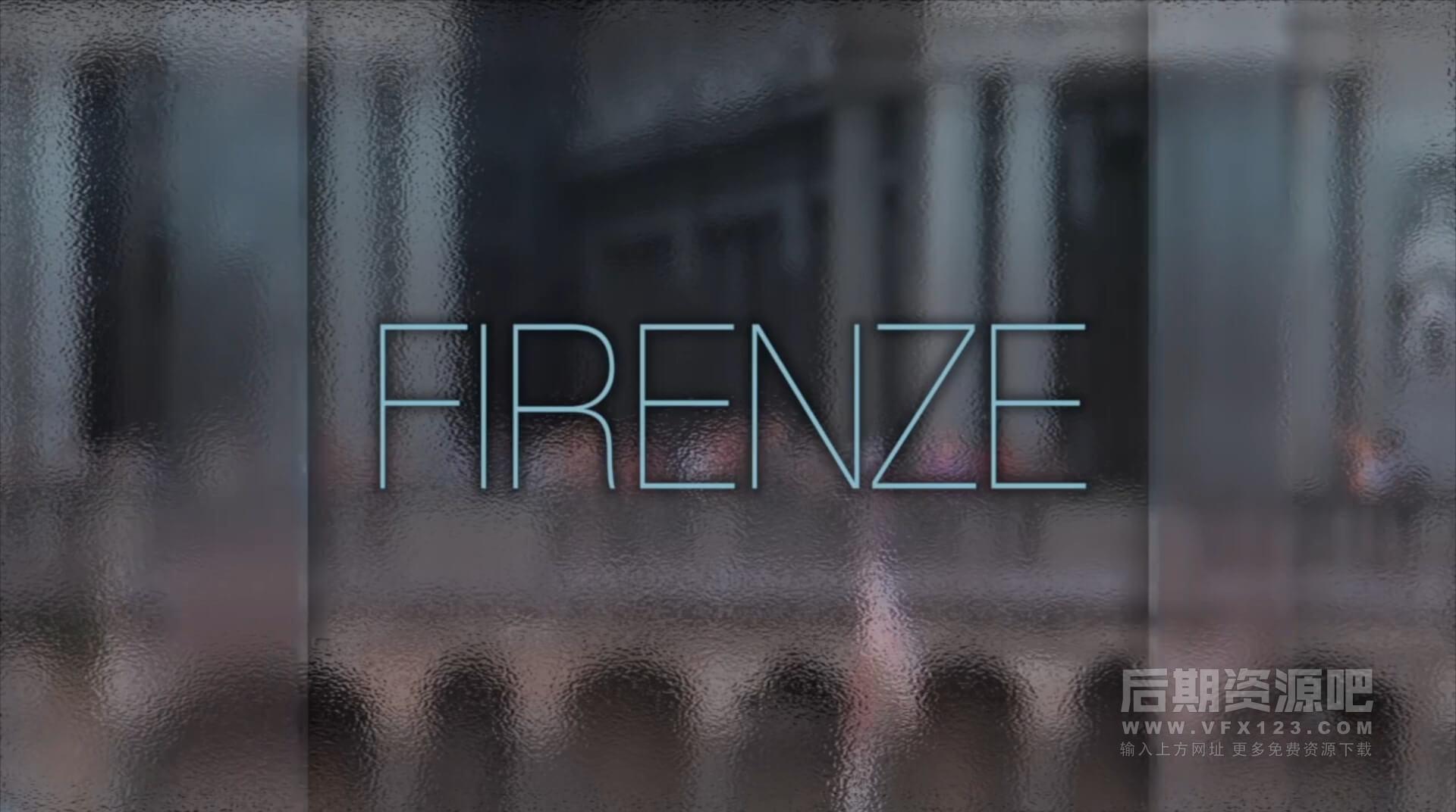 Fcpx插件 毛玻璃效果标题生成器主题模板前景效果 FrostyGlass