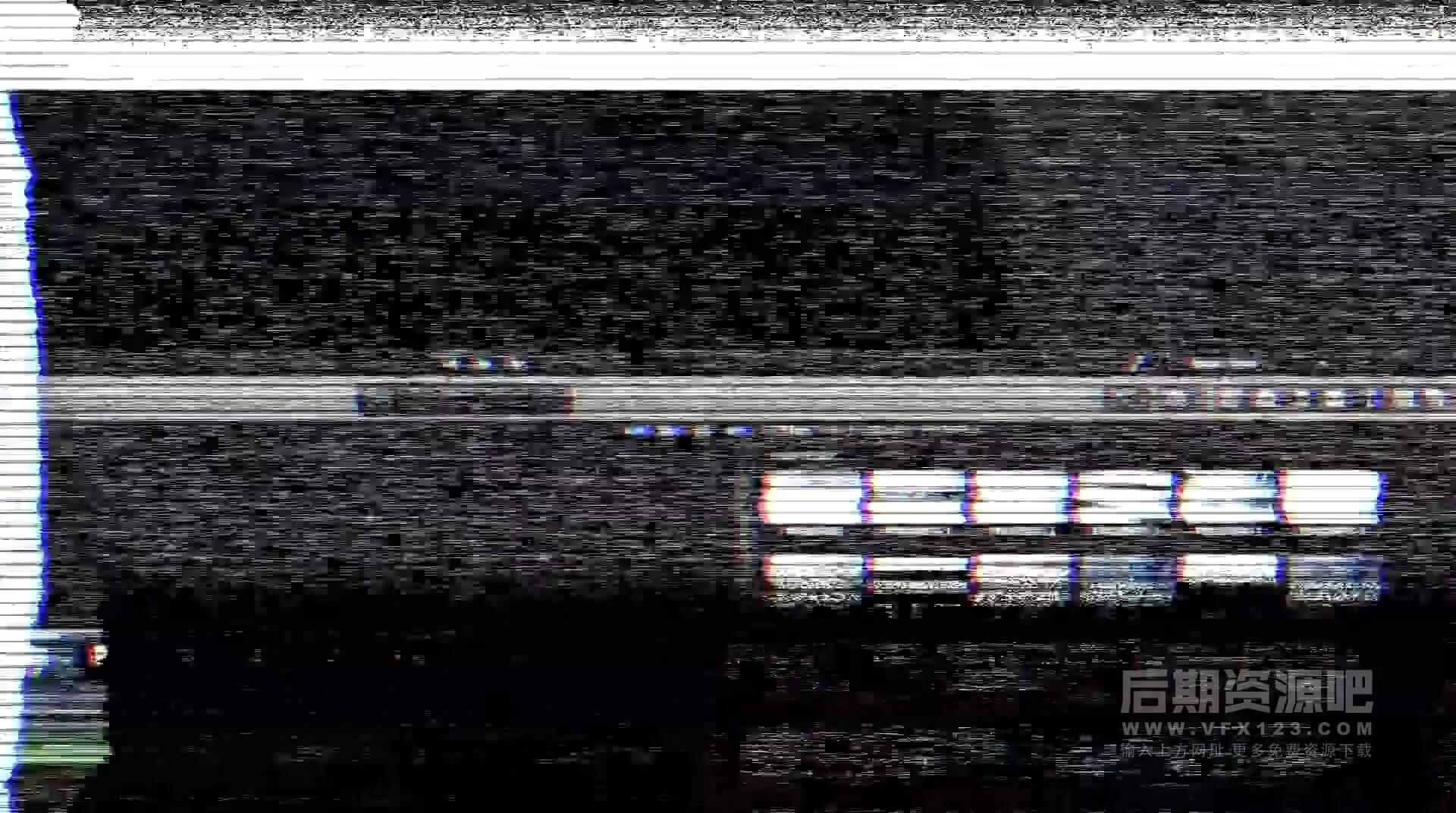 Fcpx插件 50种信号故障干扰破坏复古噪波效果 PROSTATIC
