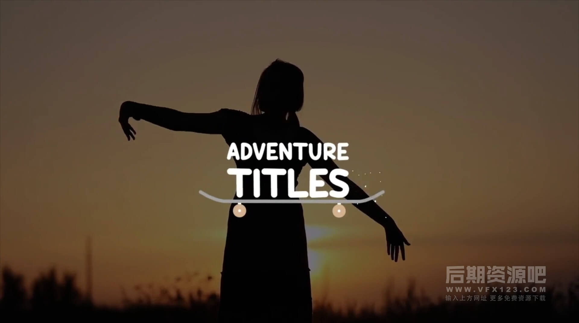FCPX标题插件 10组卡通有趣活力片头字幕展示+转场  Adventure Titles