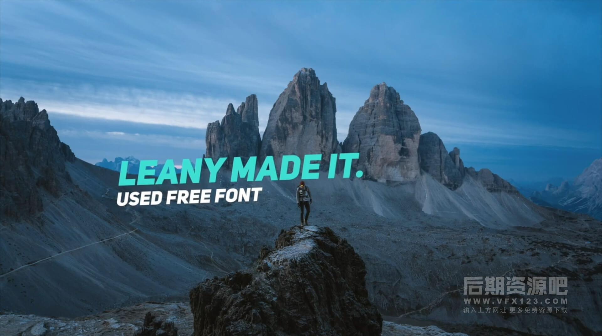 FCPX字幕插件 16组Vlog封面大标题排版动画 Typography