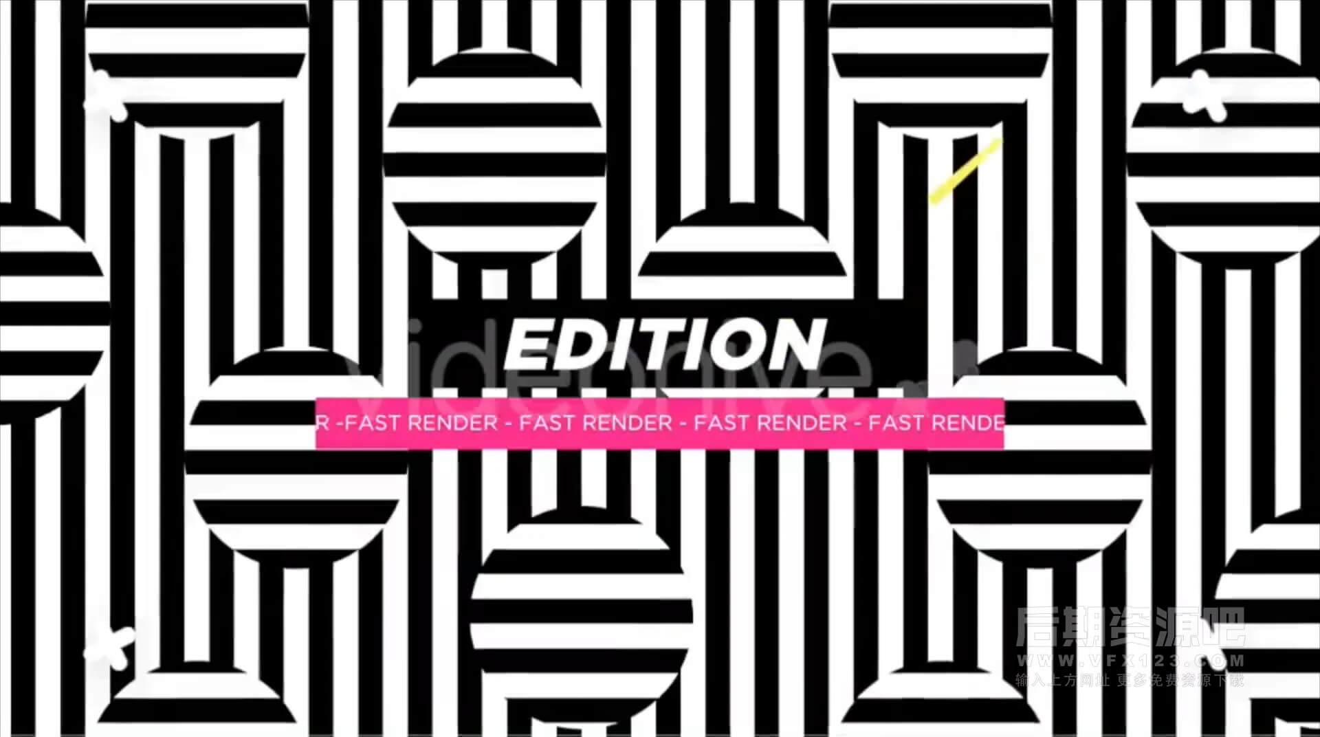 FCPX插件 10组杂志封面风格大标题片头制作模板 Titles Collection