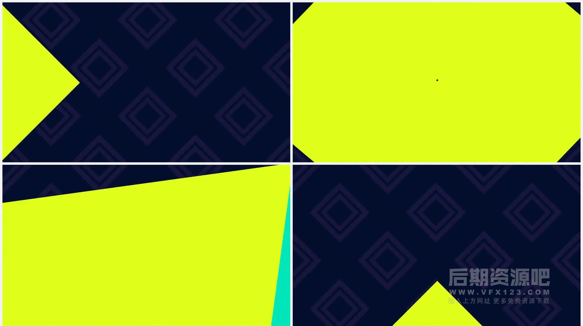 FCPX插件 运动图形排版动画标题场景片头转场 Motion Graphics Pack