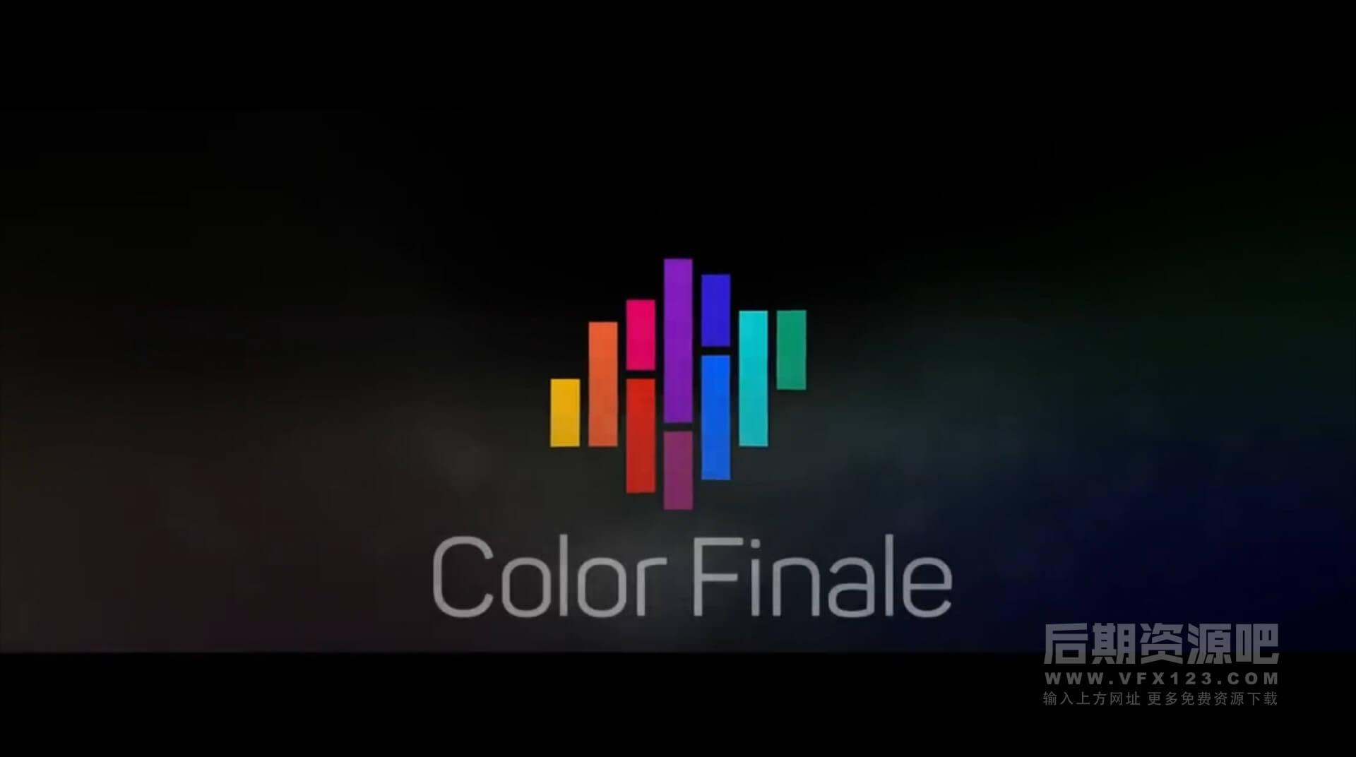 FCPX插件 专业视频分级调色插件 Color Finale Pro 1.9.4 支持LUT + 使用教程