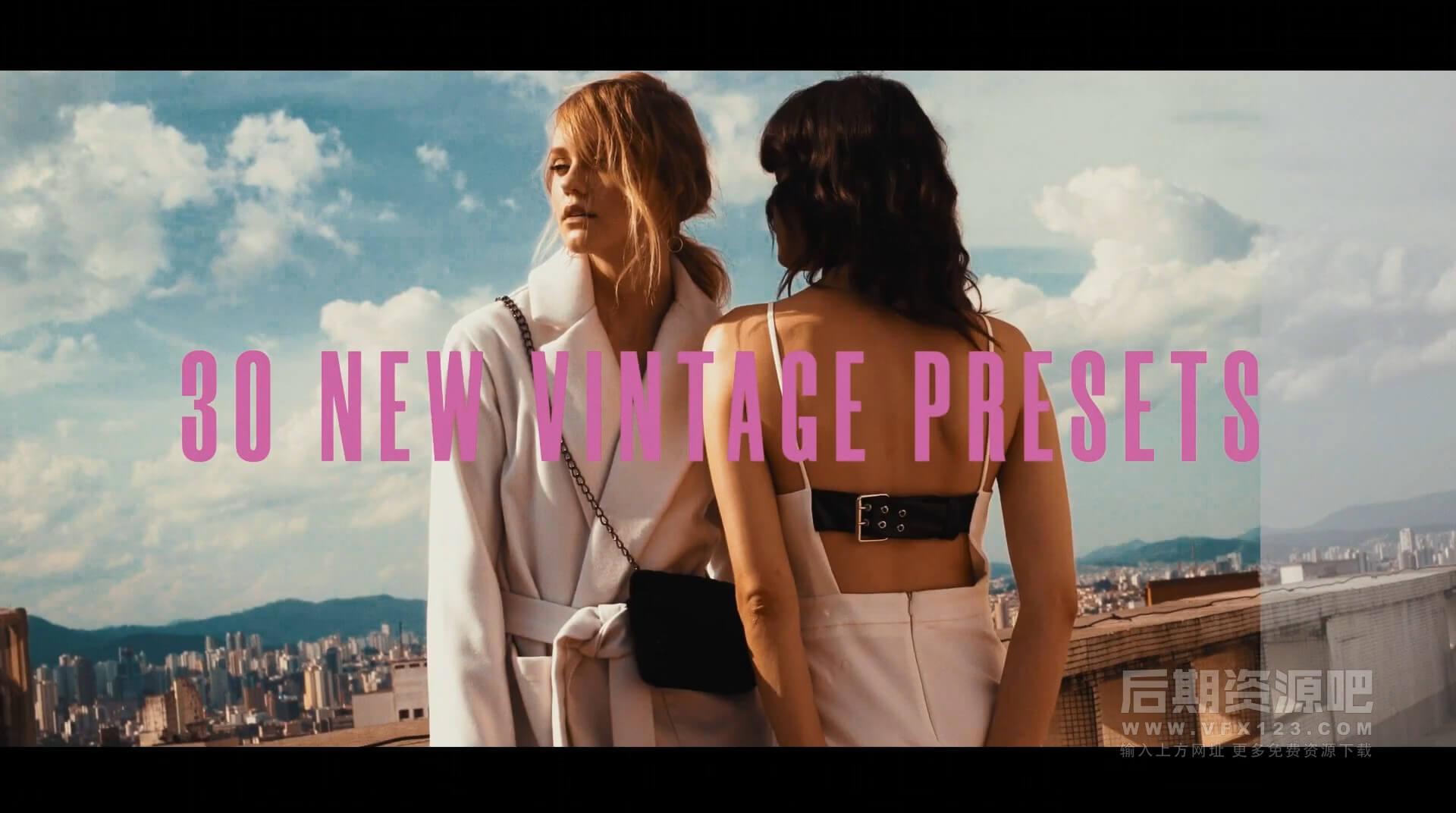 LUTs预设 420个Vlog时尚创意旅行婚礼写真复古Lut调色预设