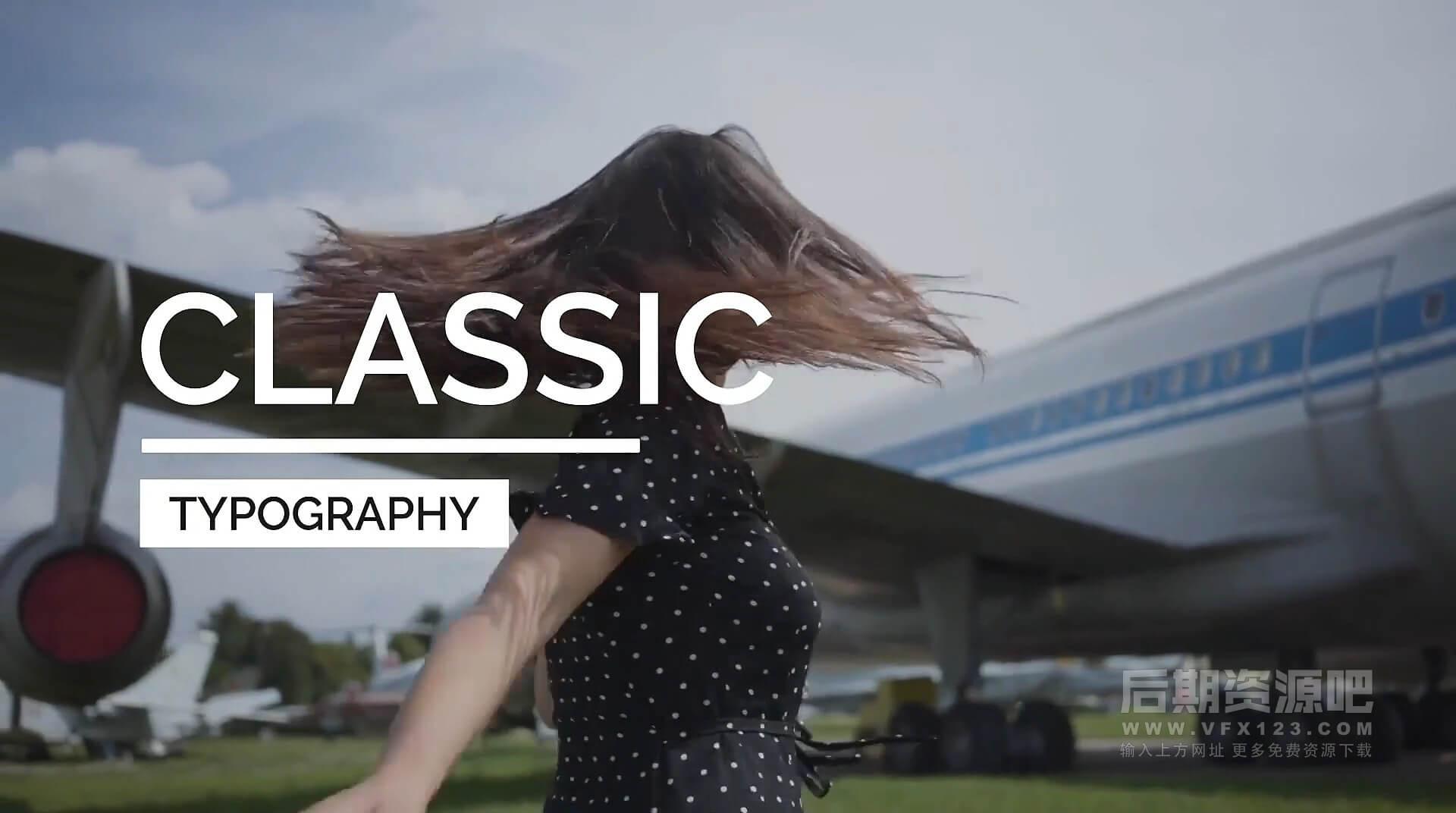 Fcpx标题插件 20组4K简洁时尚Vlog常用大标题模板 Essential Titles V.1