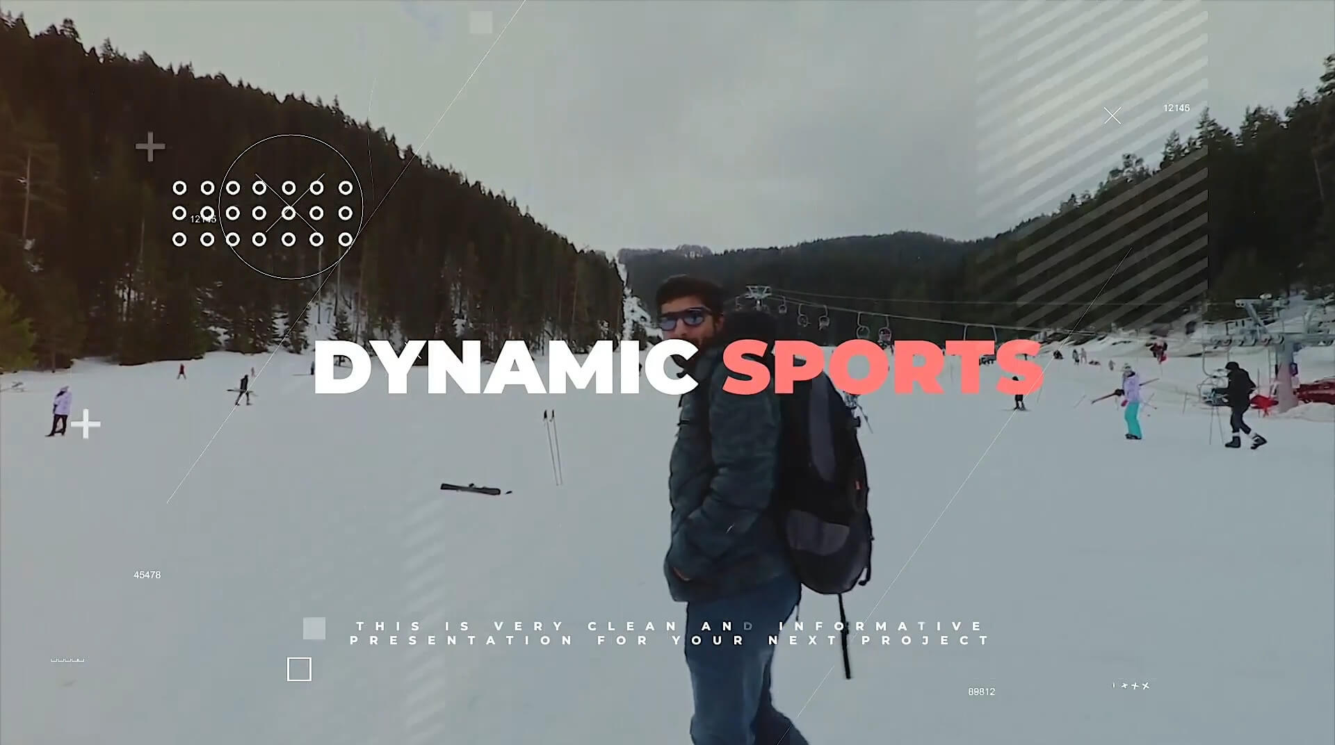 Fcpx主题插件 体育竞技类活动开场 旅游纪念相册模板 Dynamic Sports