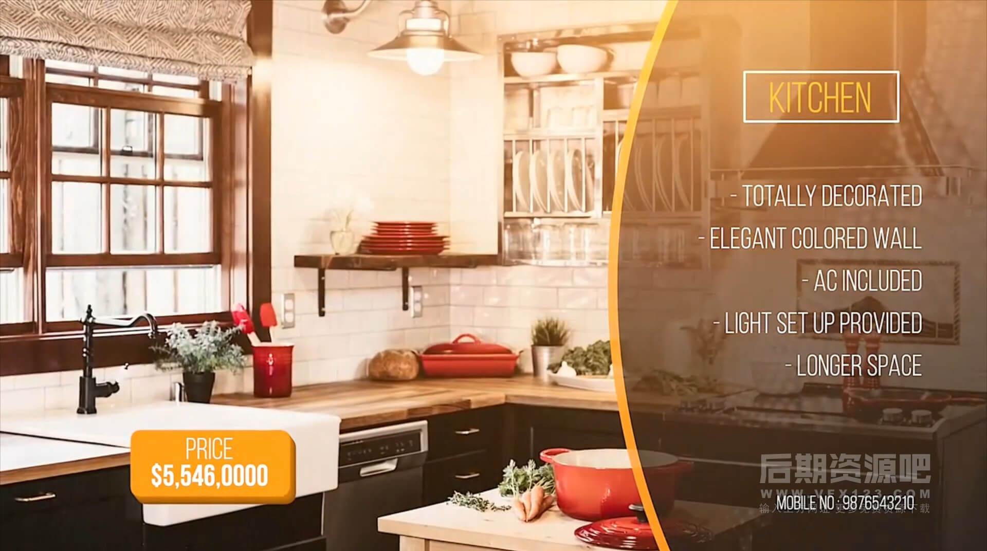 fcpx主题模板 酒店公寓房地产装饰公司宣传片头 Luxury Real Estate Presentation