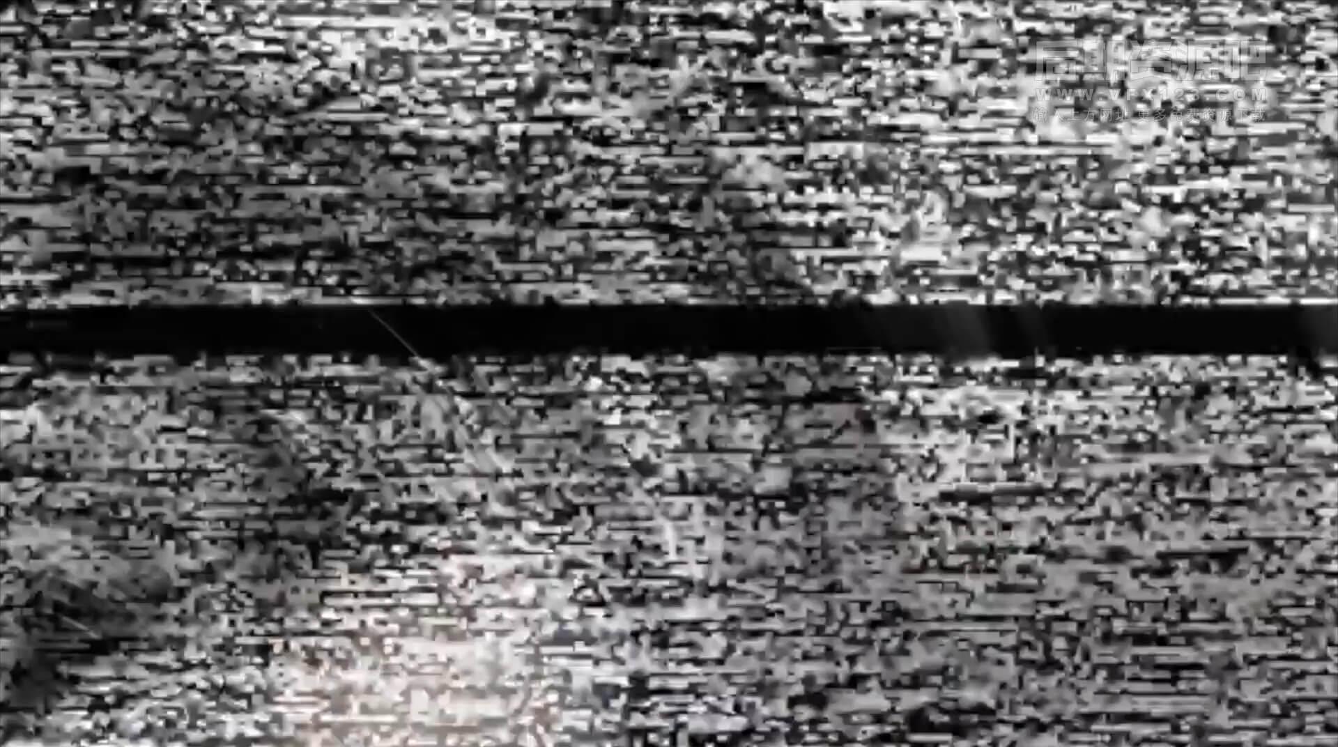 fcpx转场插件 8款复古旧电影干扰特效VHS风格过渡转场 Retro Transitions