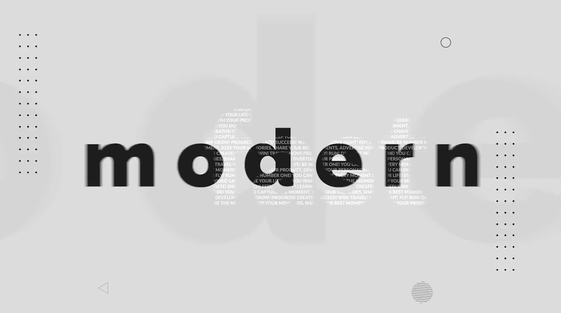 fcpx片头模板 时尚活力快闪卡点节奏感主题预告片模板 Typography Opener