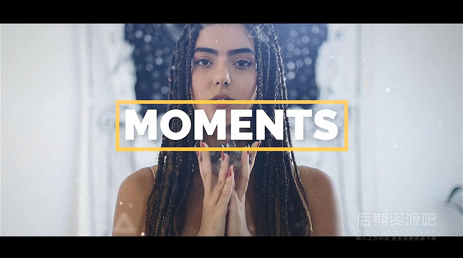 Fcpx主题插件 旅行写真vlog图片视频展示模板 Moments