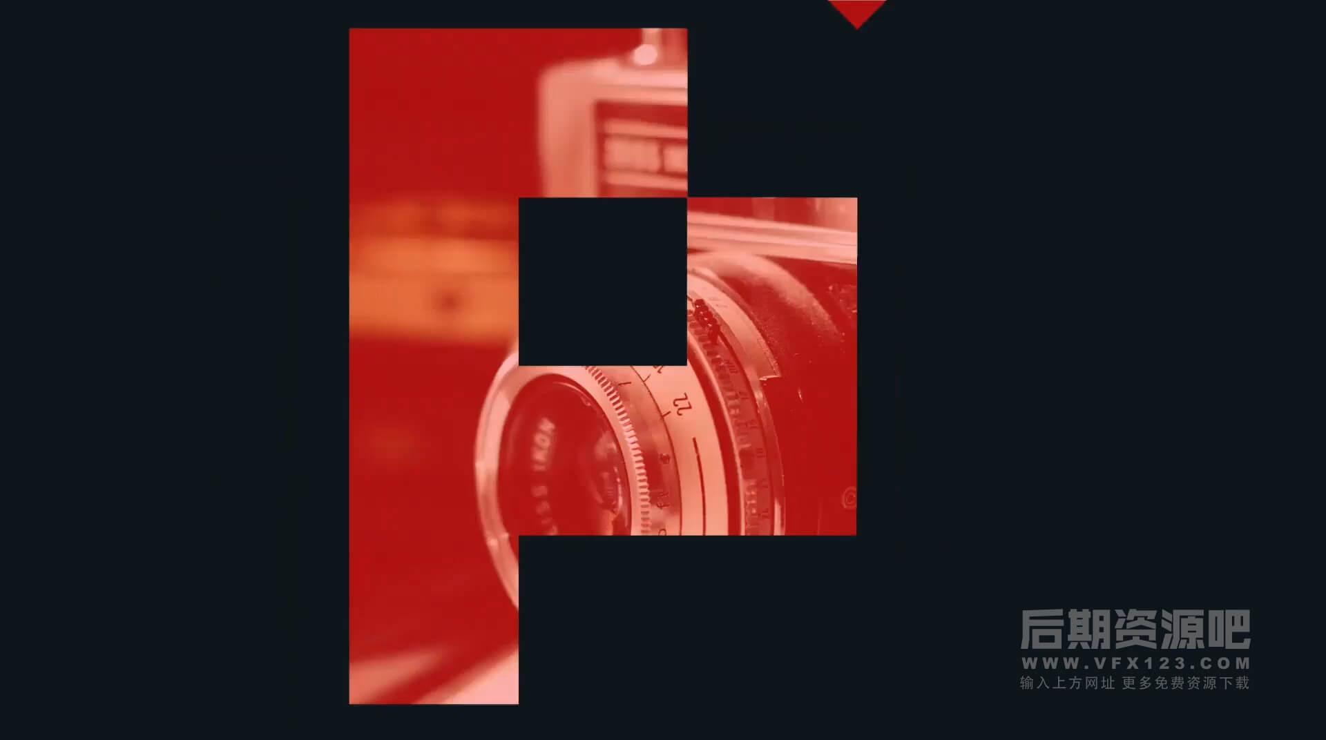 Fcpx插件 摄影工作室徽标LOGO展示模板 Photographer Logo