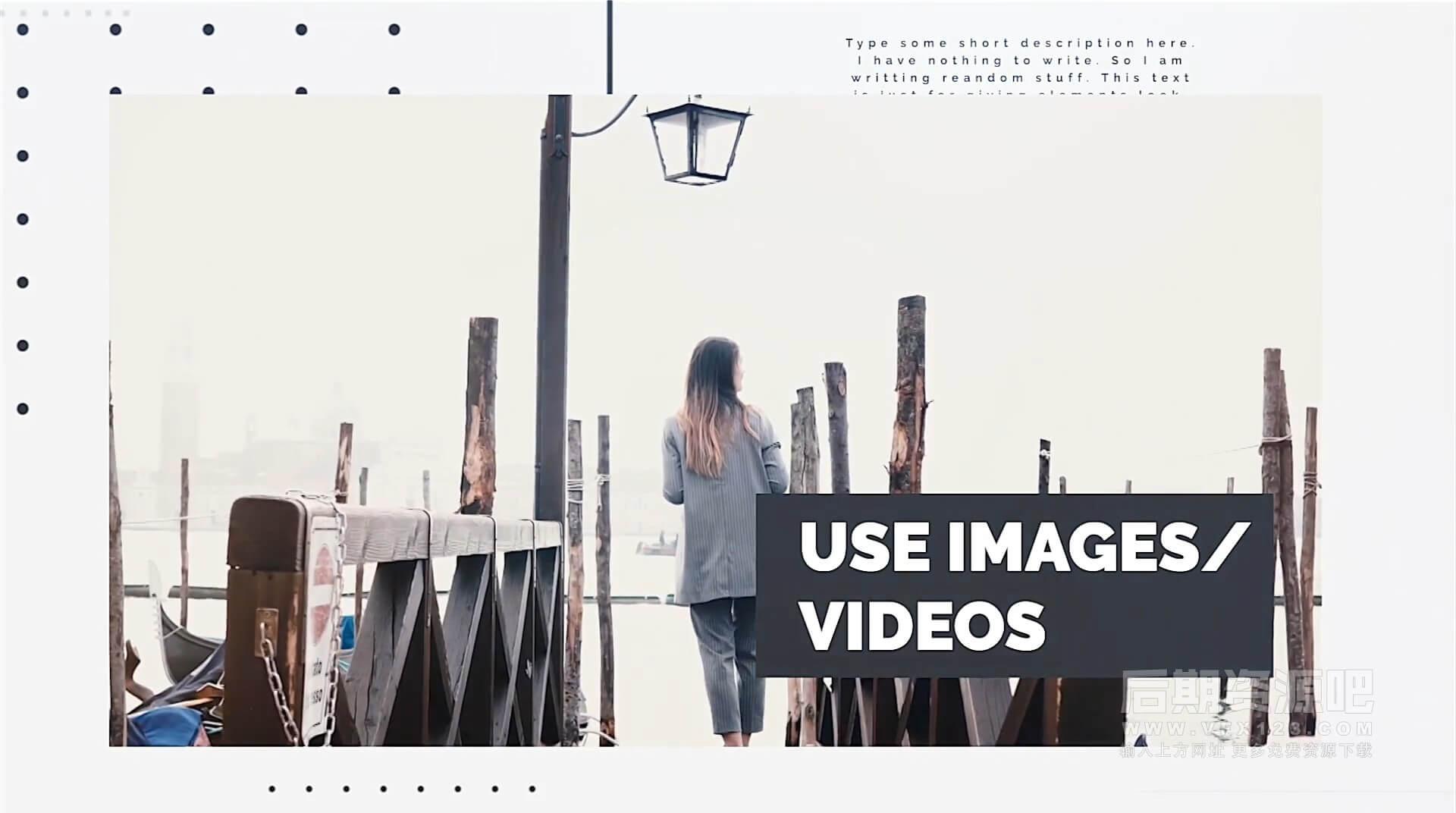 fcpx主题模板 简洁商务风格公司宣传片头插件 Minimal Intro