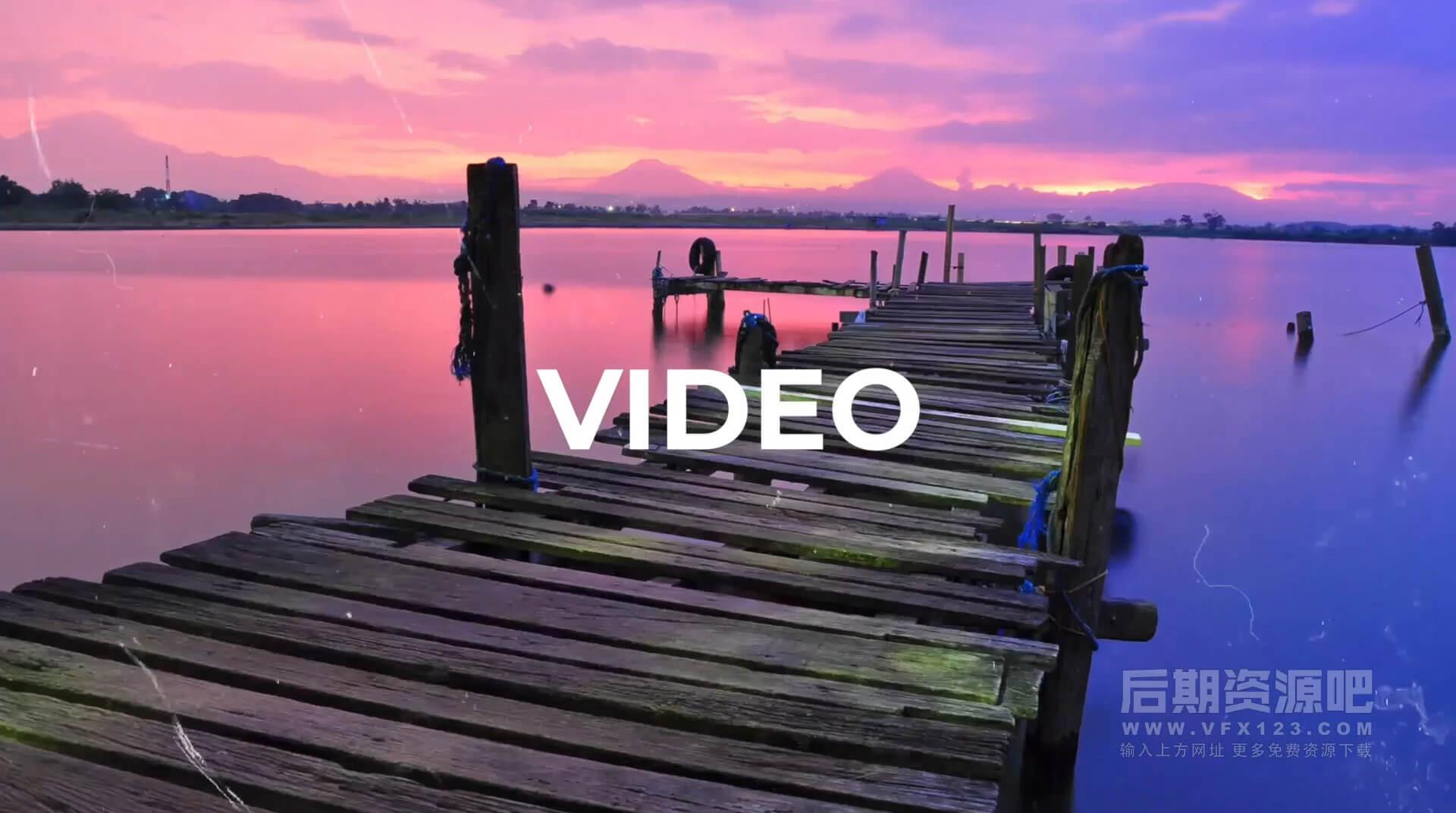 Fcpx主题模板 4K快速切换动态幻灯片Vlog片头插件 Fast Dynamic Slideshow