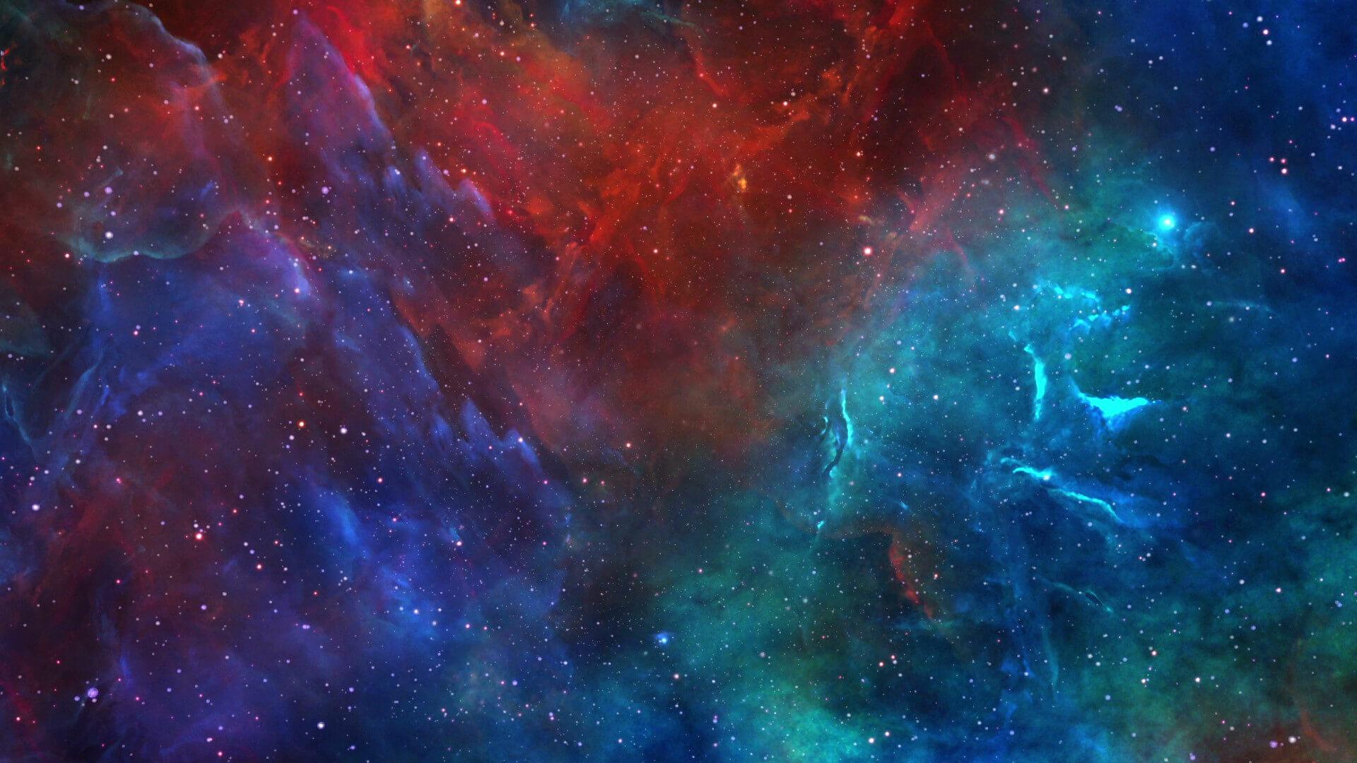 视频素材 8段绚烂星空太空星云背景素材 Space Nebulae Pack