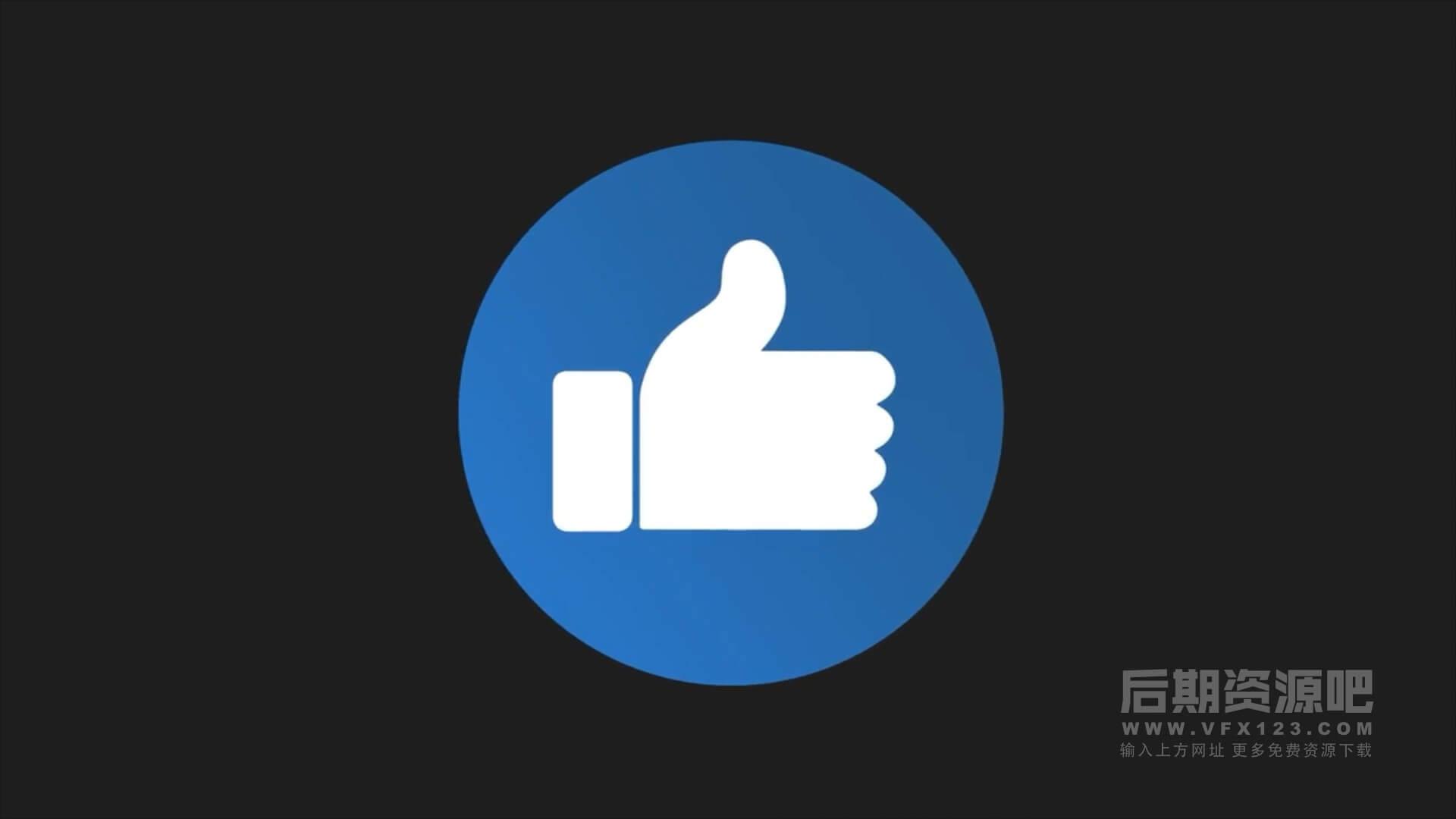 Fcpx插件 13个有趣搞笑喜欢表情可控制颜色社交媒体素材包 Emojis Pack