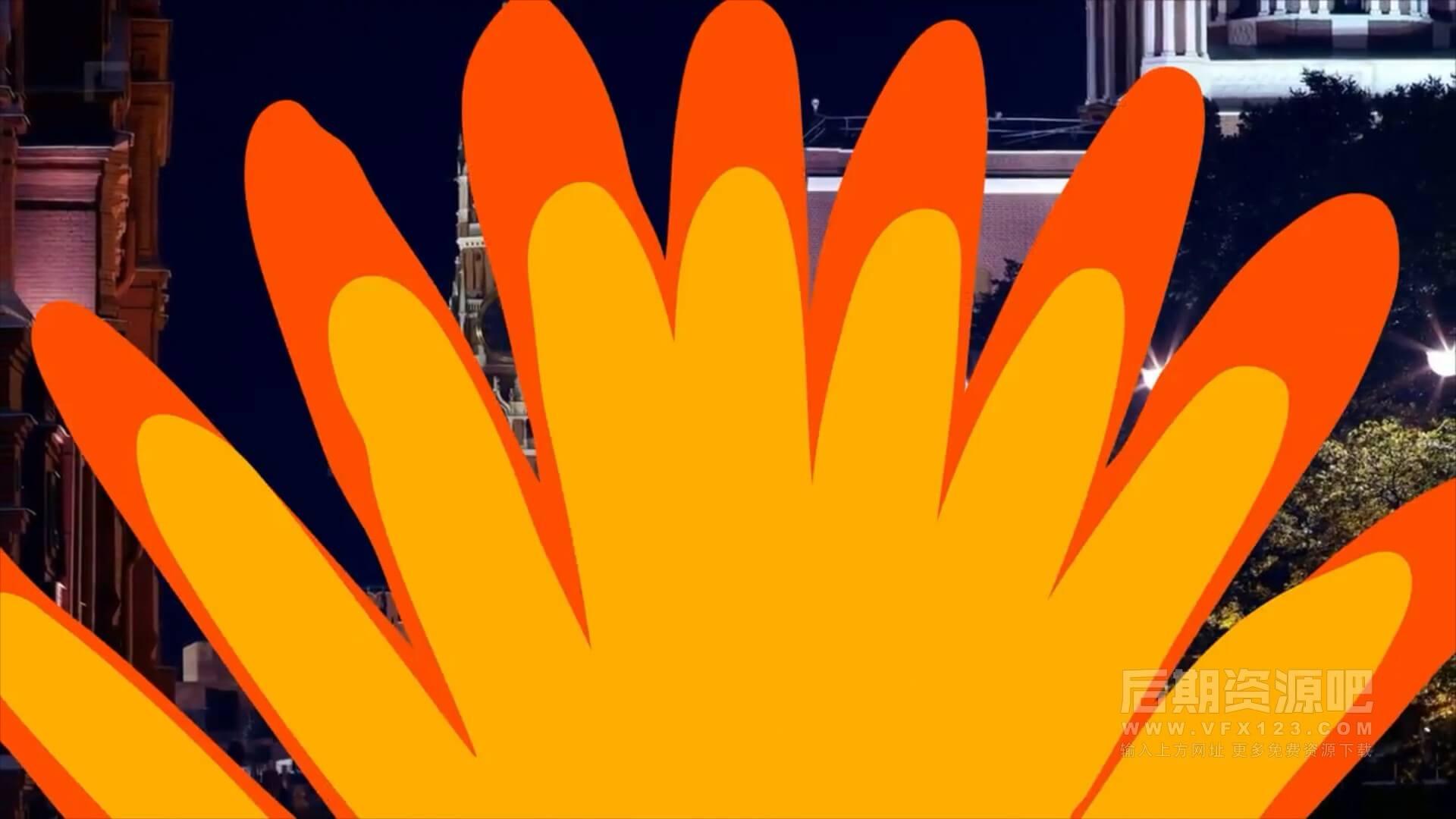 Fcpx转场插件 16组手绘卡通形状过渡转场预设 Hand Drawn Transitions