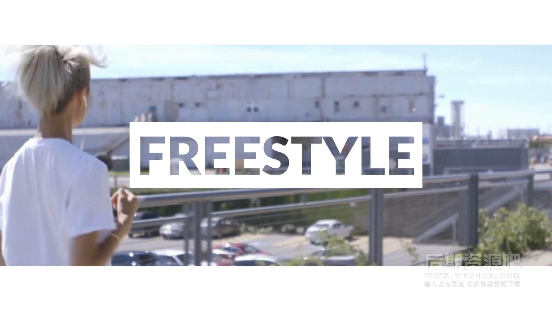 Fcpx主题模板 快节奏照片视频展示模板多滤镜效果 Freestyle Slideshow