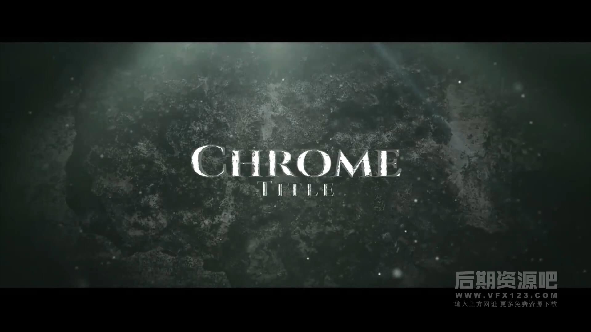 Fcpx插件 史诗级震撼大气电影预告片模板 Cinematic Title