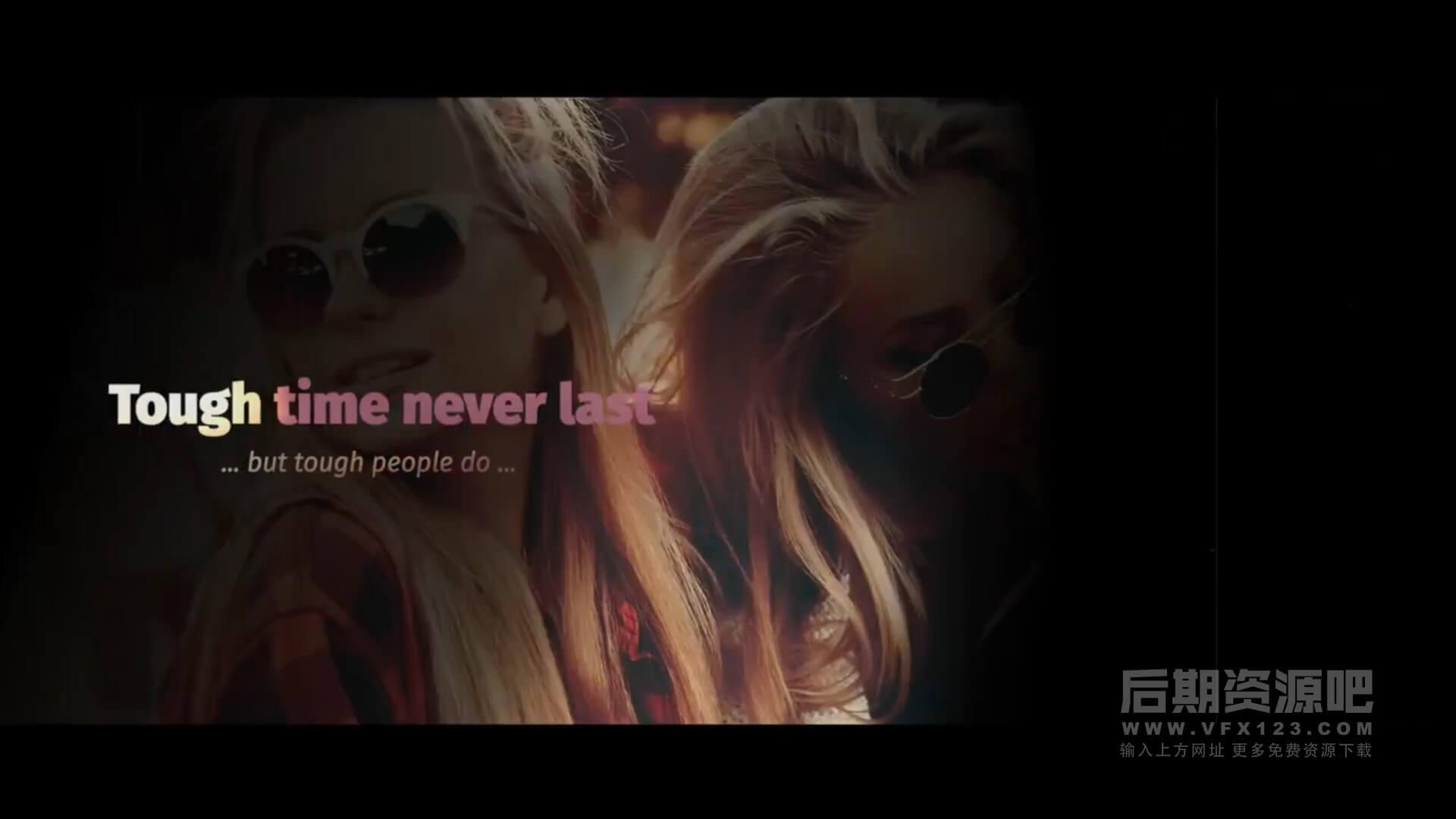 Fcpx主题模板 温馨柔和回忆录纪念册幻灯片模板 Emotional Memory