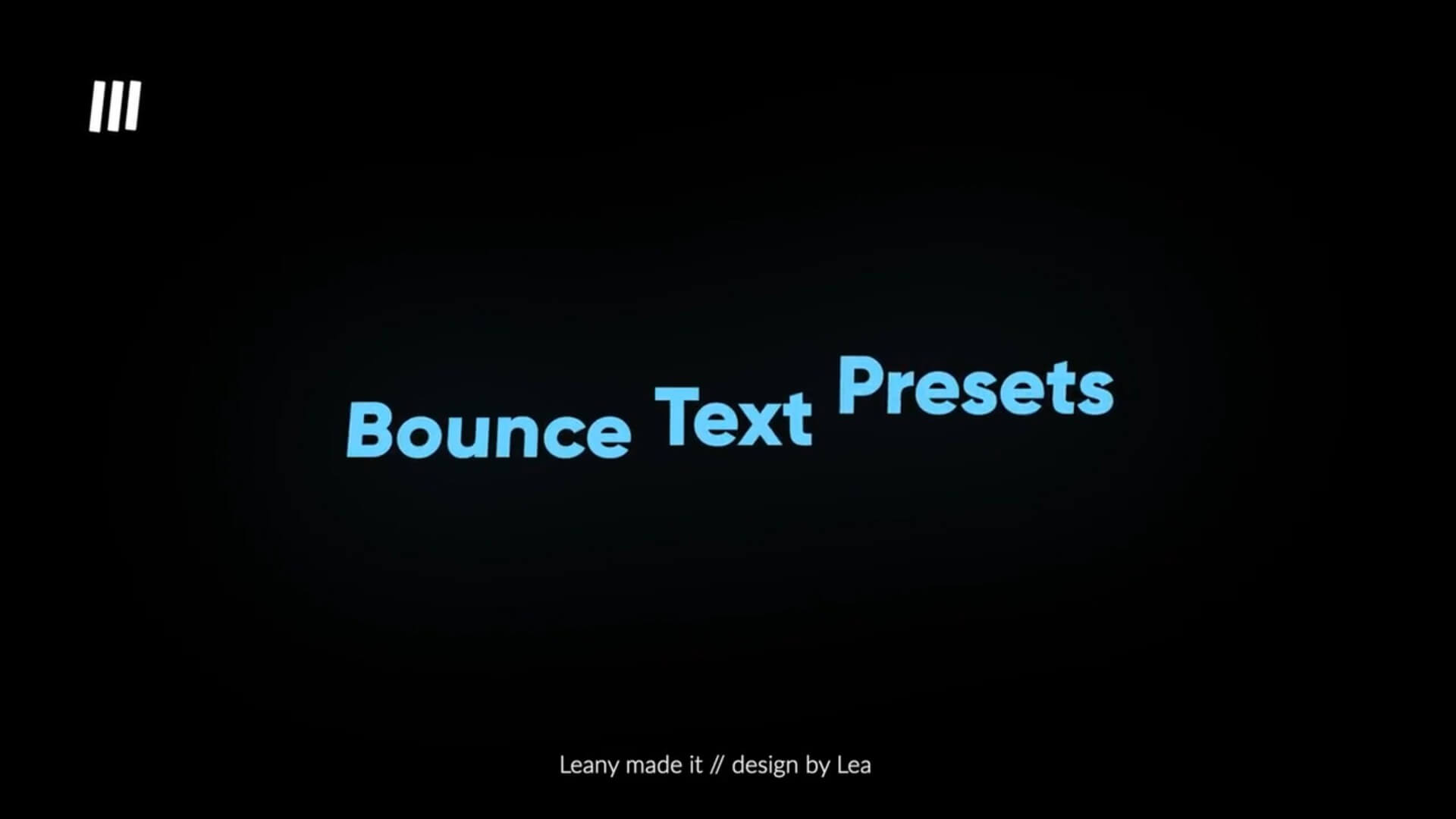 Fcpx插件 可爱弹跳果冻效果文字标题动画模板 Bounce Text Animations