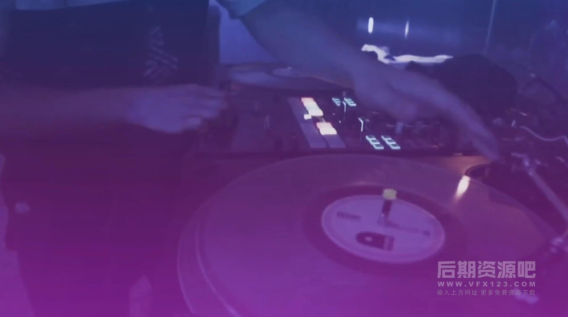 fcpx主题模板 DJ夜总会聚会俱乐部促销开场片头 DJ Promo Night Club Promo