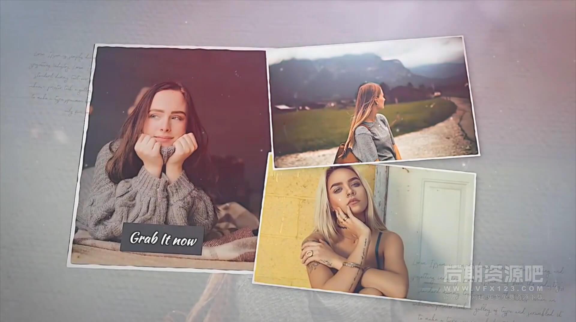 fcpx主题模板 浪漫回忆旅行纪念婚礼MV相册模板 Lovely Gallery