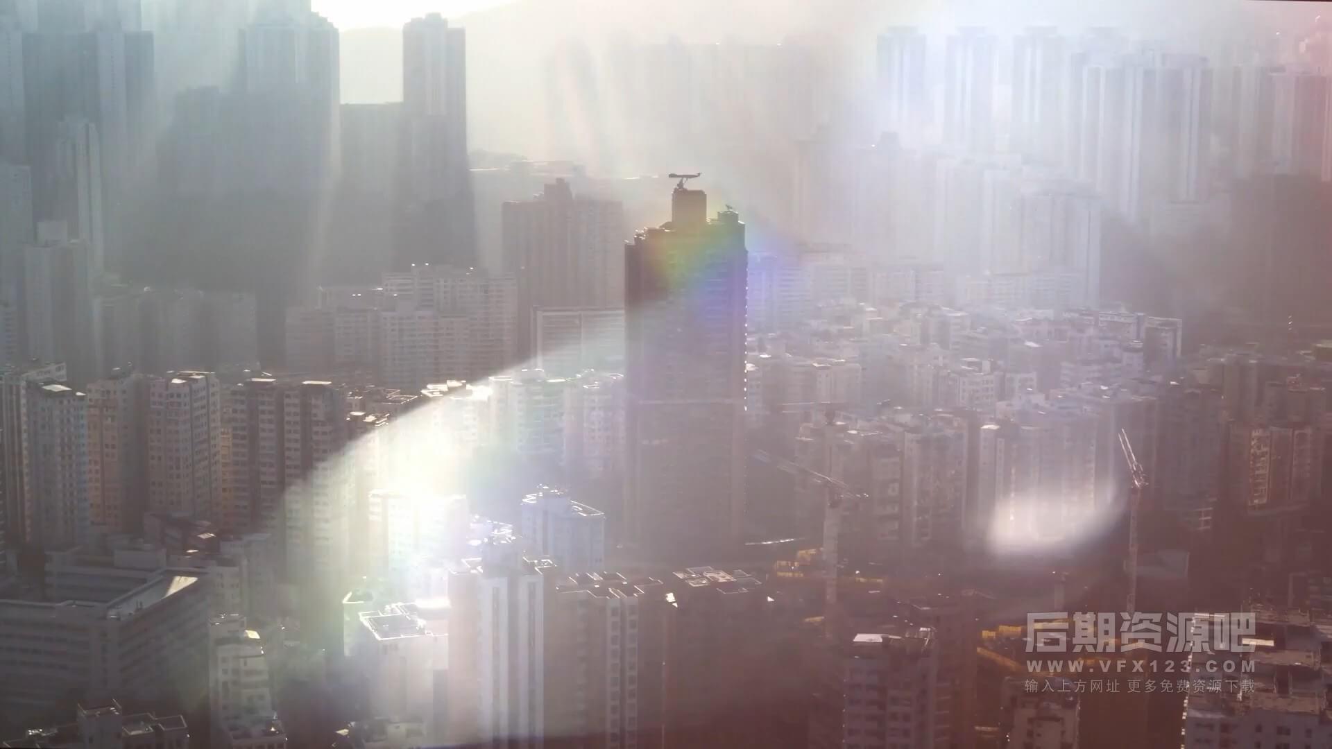 视频素材 31个4K高质量镜头炫光光斑特效合成素材 CinePacks Lens FX 2