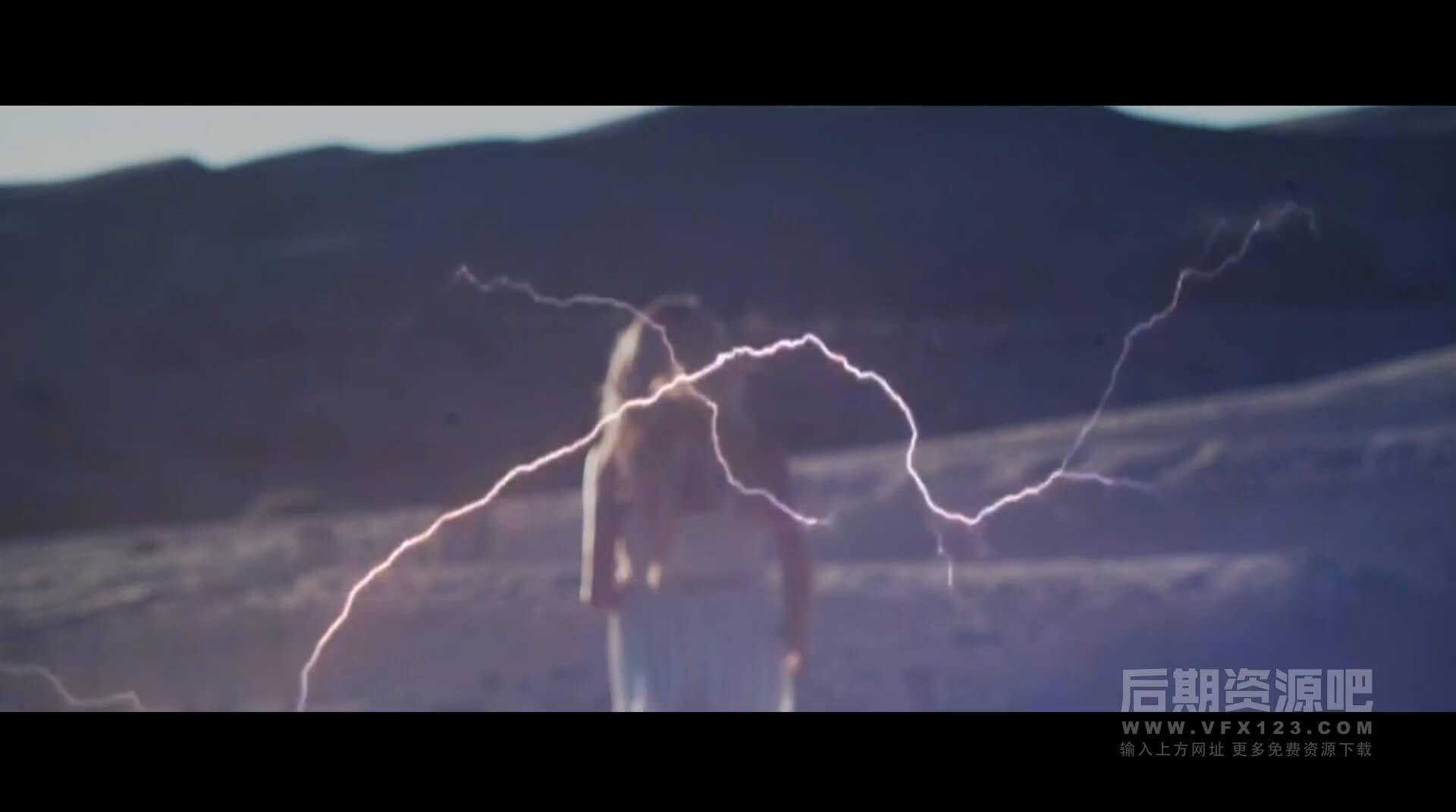 视频素材 风暴之眼闪电雷暴风暴云特效合成素材 Digital Storm Effects