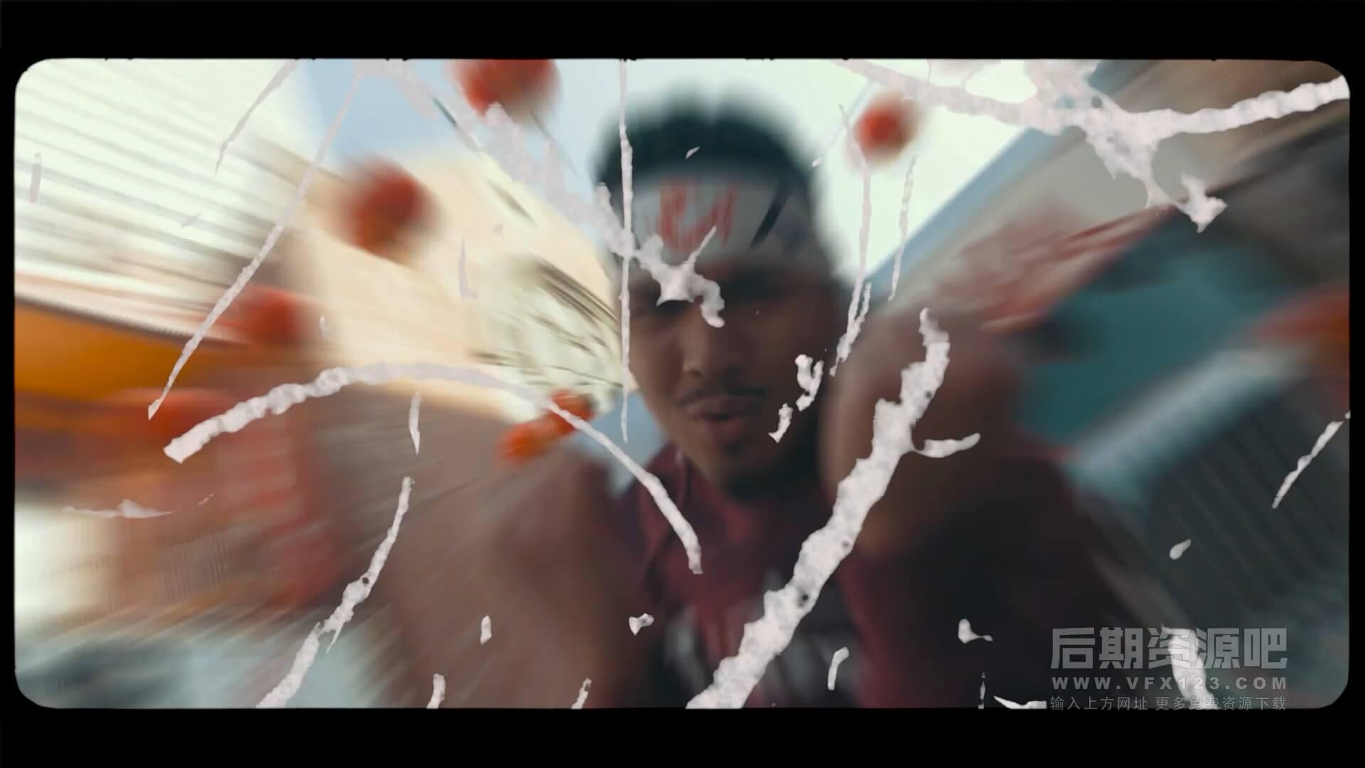 视频素材 油漆喷涂涂鸦扰乱特效合成素材 CinePacks Paint FX