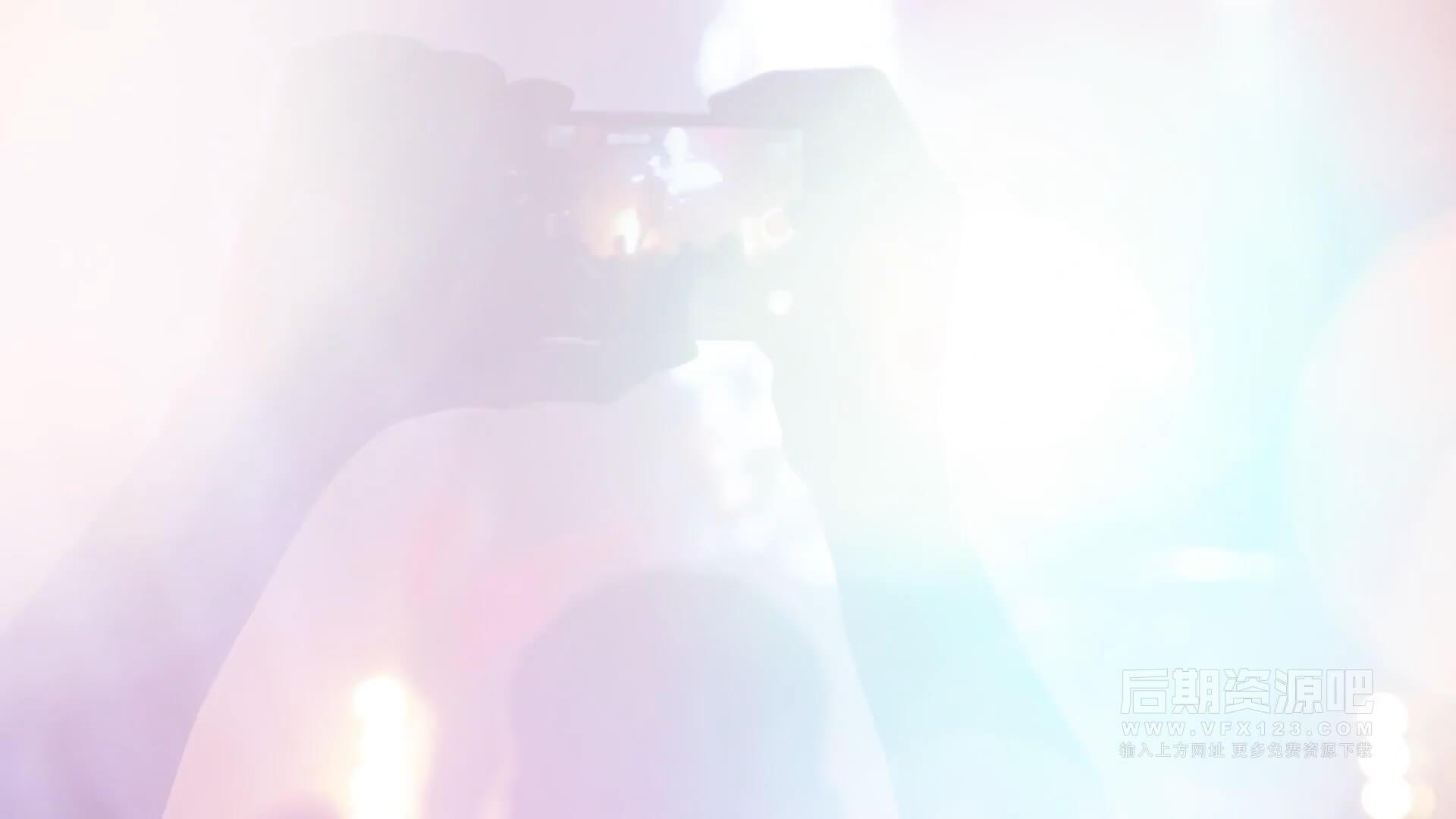视频素材 140个4K镜头光晕漏光闪光效果转场 Real Light Transitions