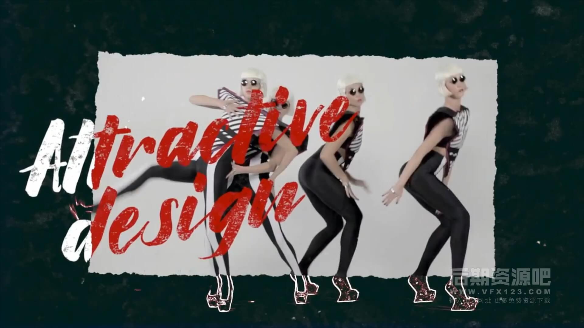 fcpx主题插件 动感活泼现代城市风格跳帧效果片头模板 Urban Style Promo