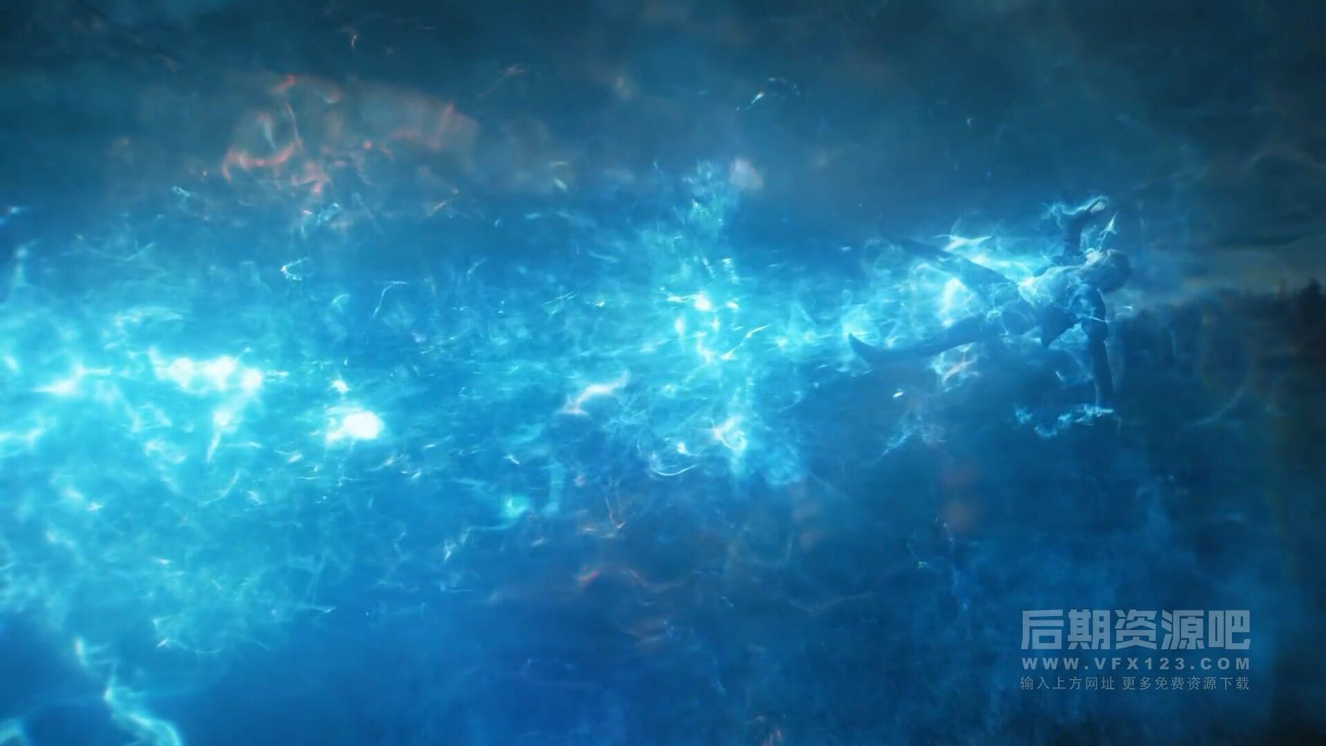 视频素材 431个4K科幻魔法能量冲击波星火粒子粉尘烟雾特效合成素材 完整版