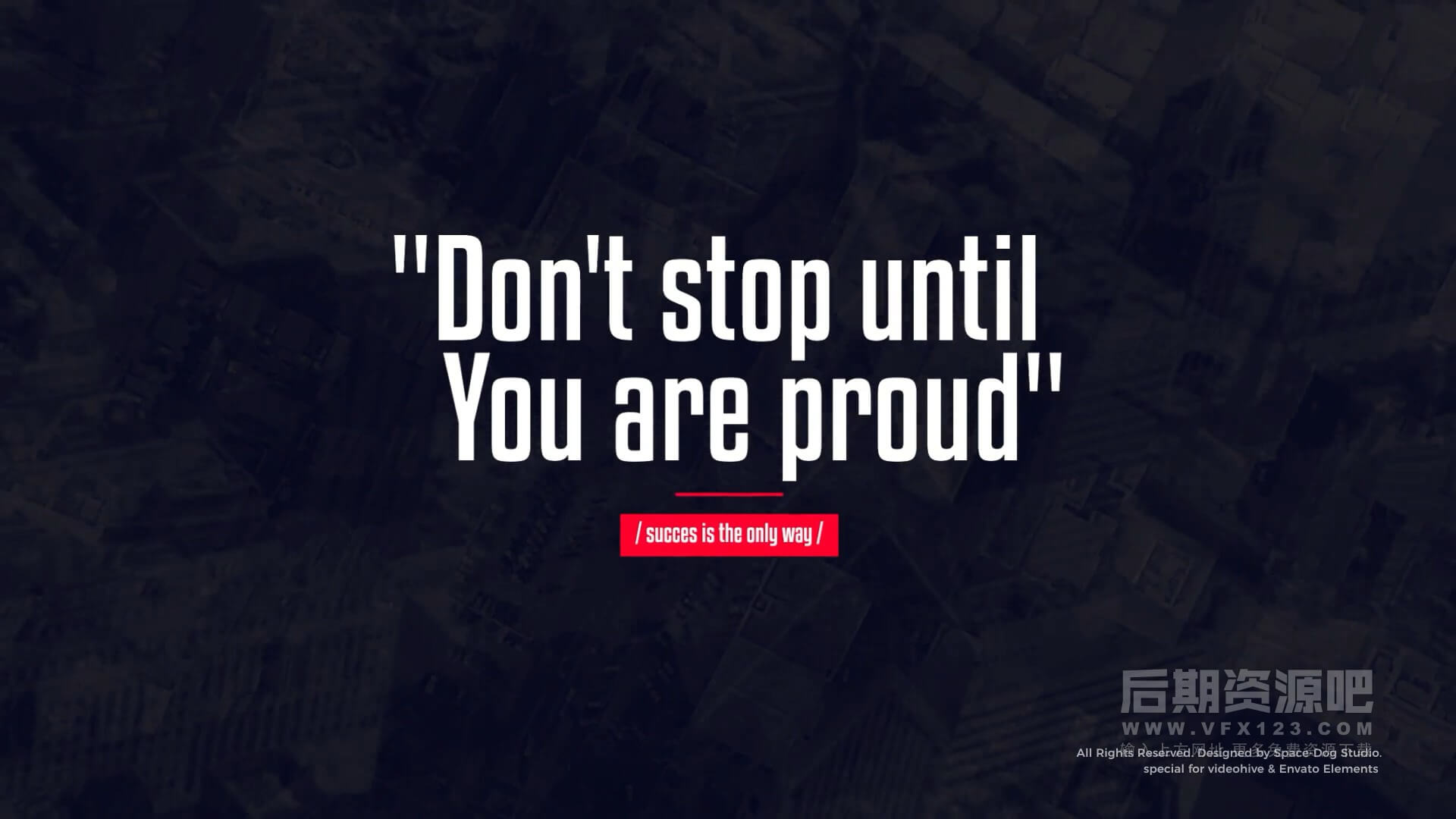 fcpx标题插件 25组商务简约风格文字标题动画模板 Titles Motivational