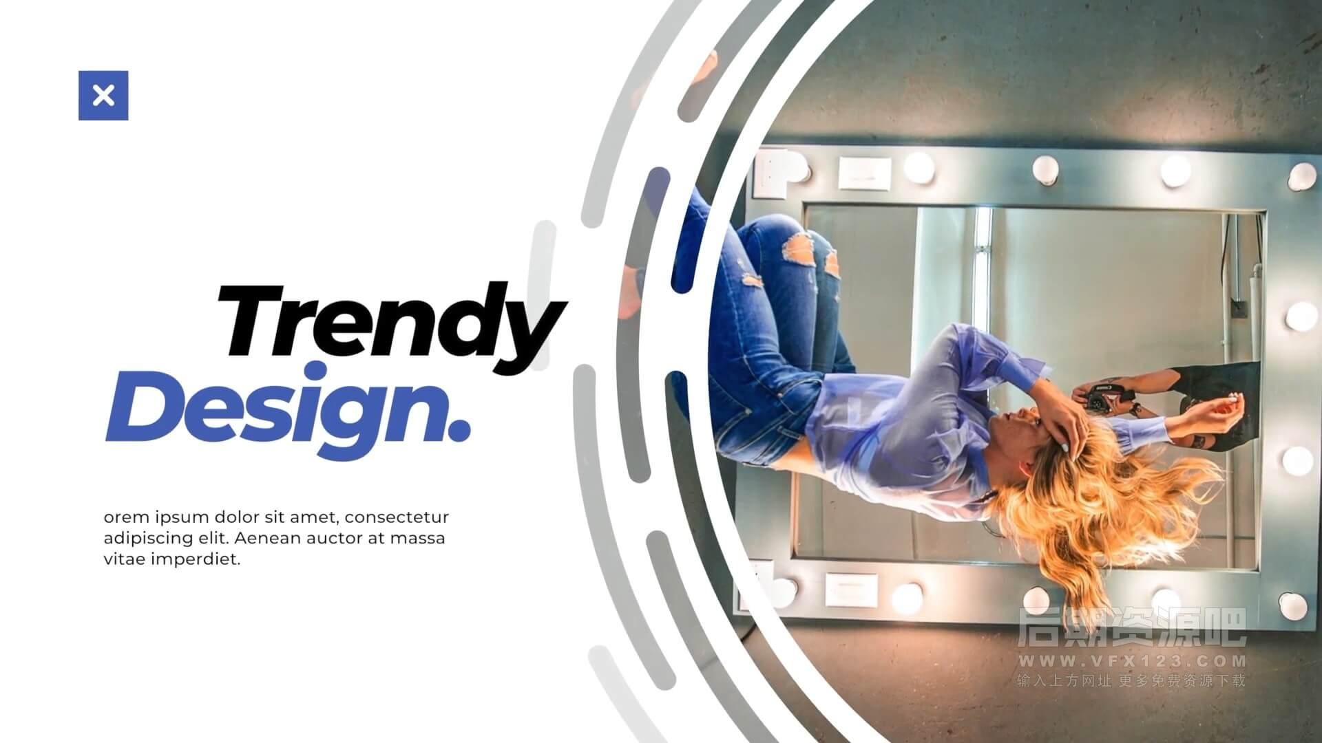 fcpx插件 20组现代简约封面版式大标题模板 Modern Typography