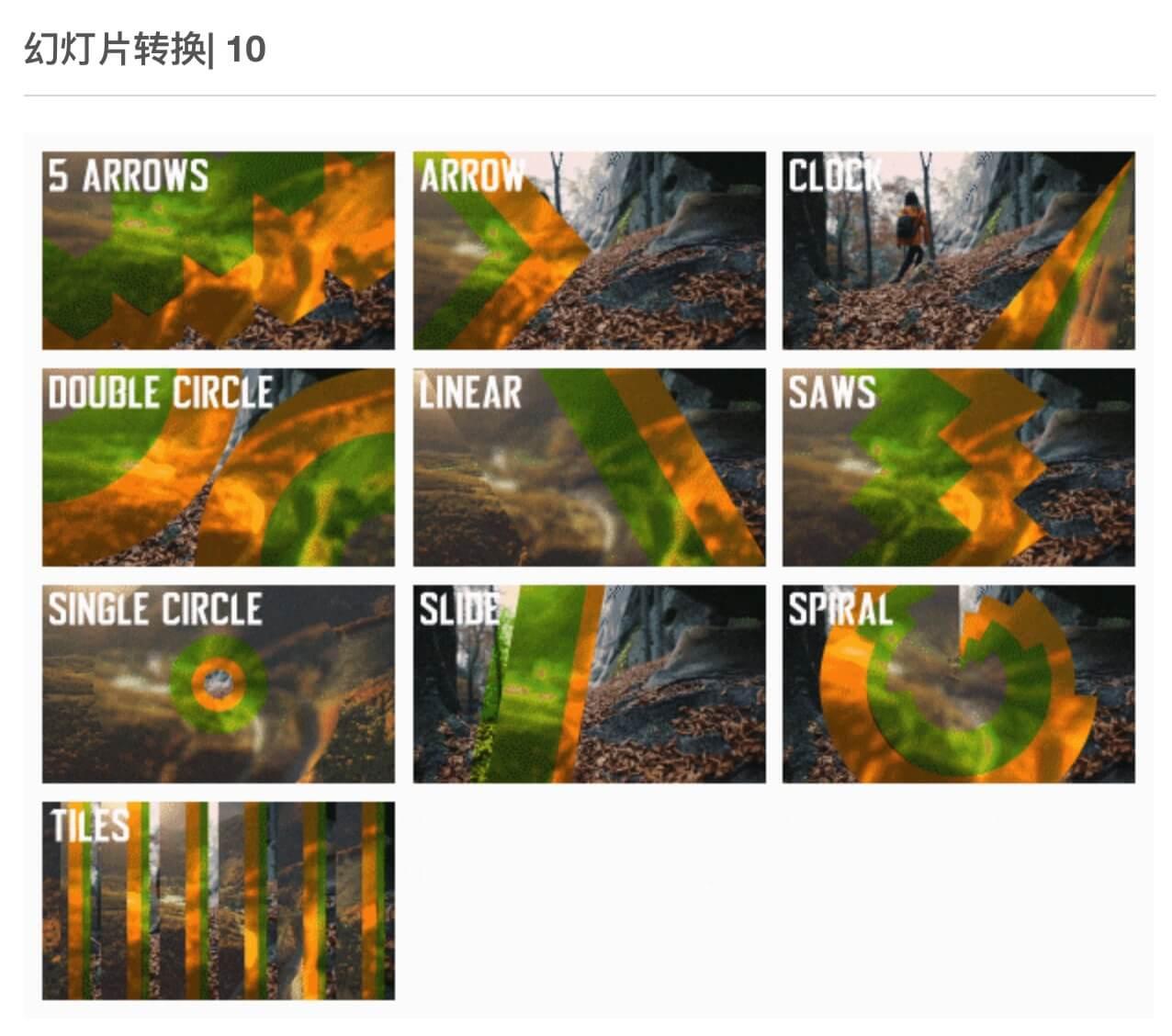FCPX插件 205个光效烟雾火焰水墨图形故障视差漫画笔刷扭曲缩放转场附参考教程