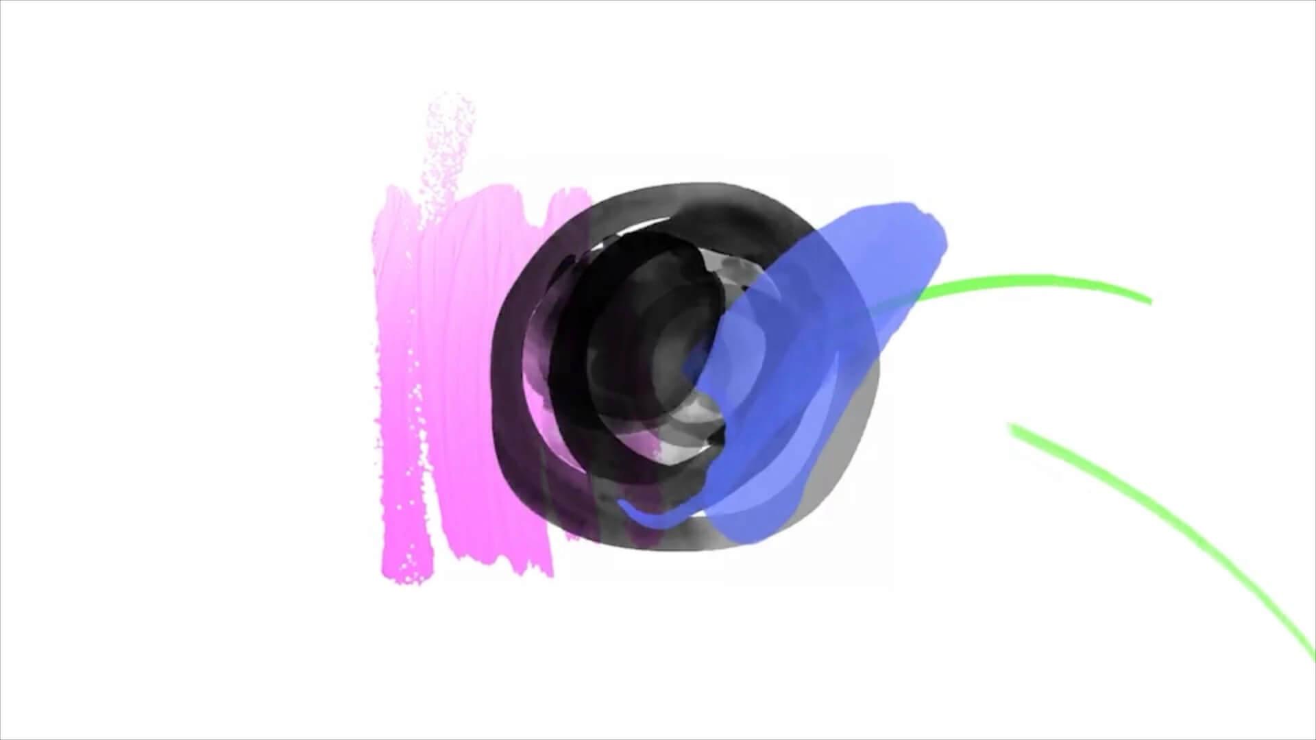 fcpx插件 彩色水墨笔刷效果LOGO徽标展示动画模板 Hand Drawn Brush Logo