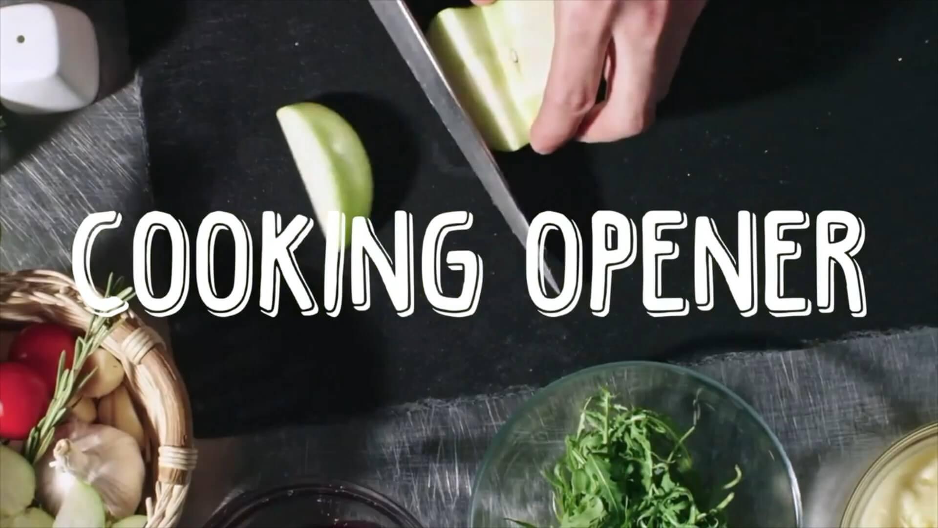 fcpx插件 有趣可爱美食旅行vlog开场片头模板 Vlog Opener