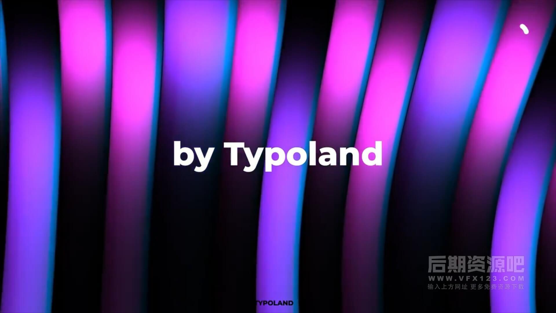 fcpx插件 4K绚丽动态背景制作工具 可自定义颜色 4k backgrounds