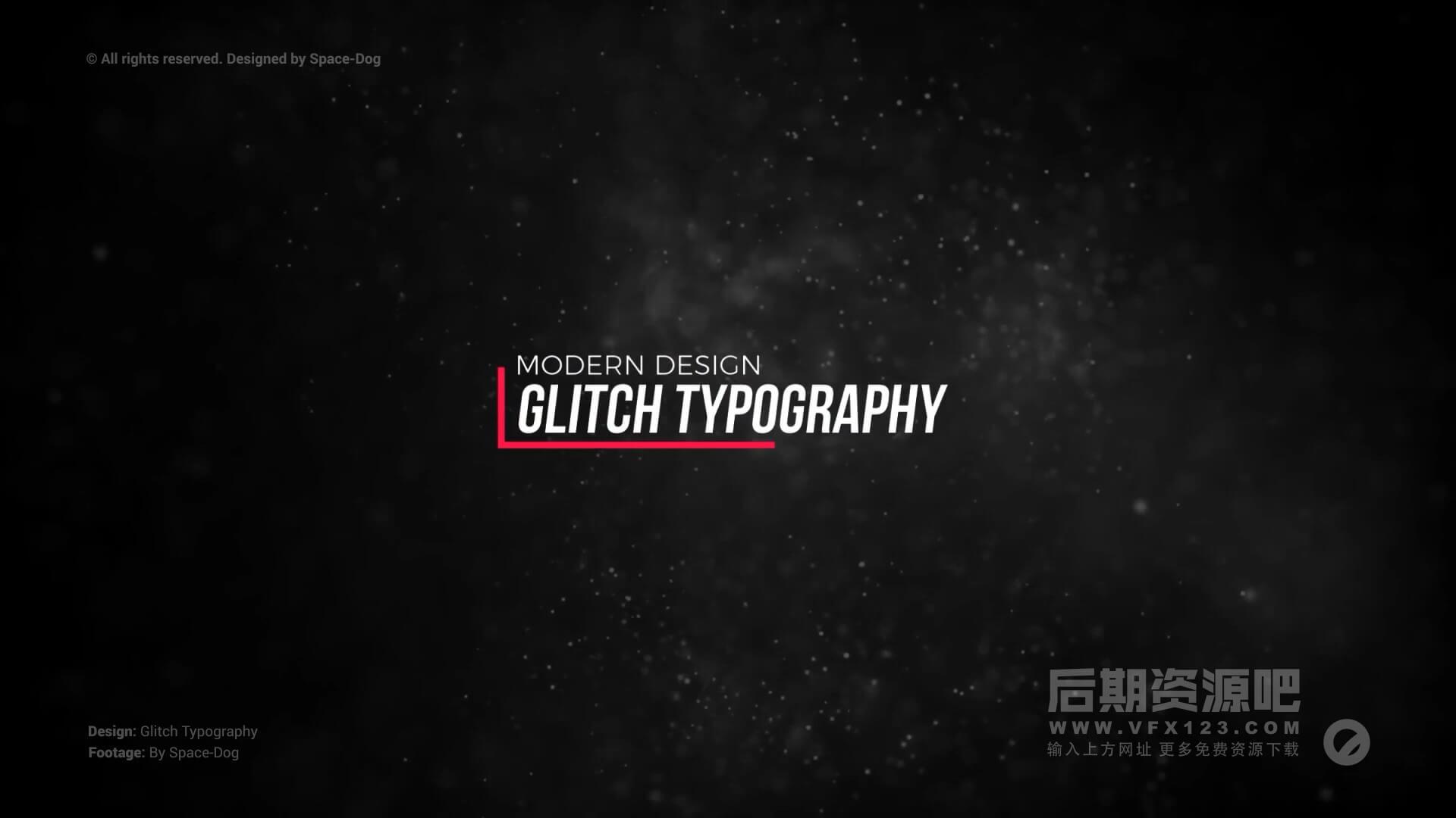 fcpx标题插件 20组信号干扰损坏效果文字标题模板 Glitch Modern Titles