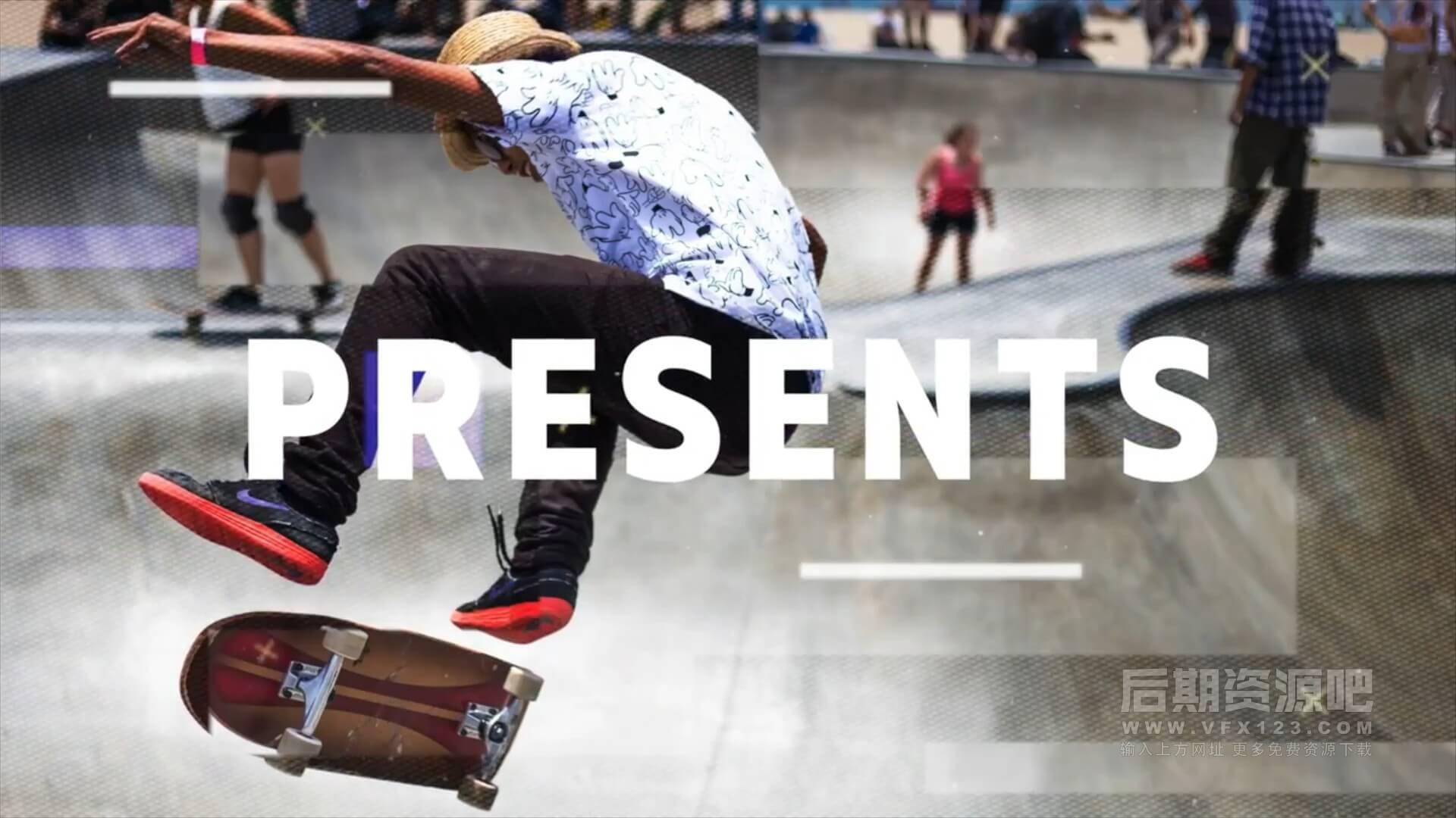 Fcpx主题模板 都市体育竞技类活动开场片头 Urban Sport Promo