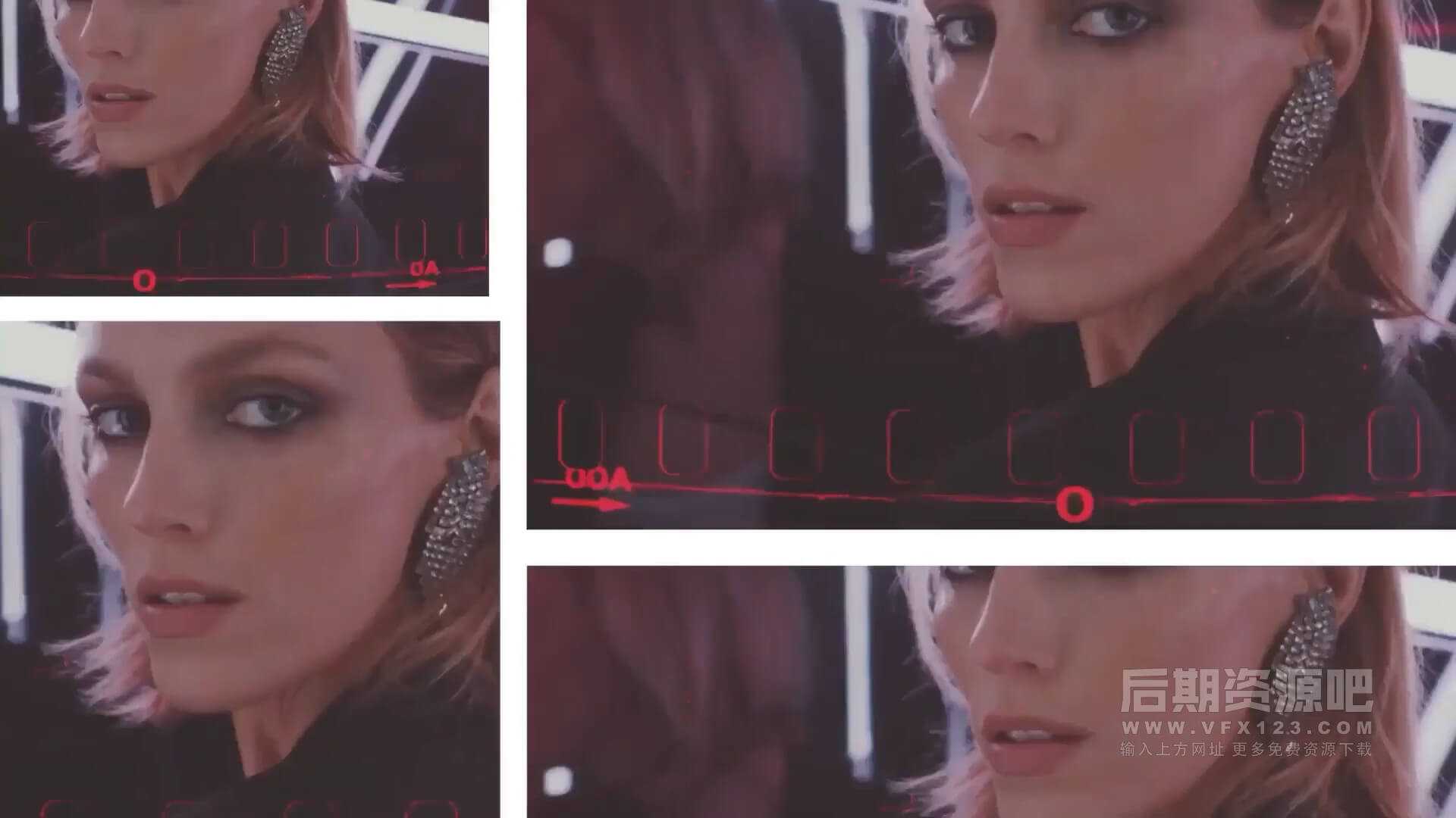 fcpx主题模板 现代时尚动感服装写真宣传片头 Dynamic Fashion Promo
