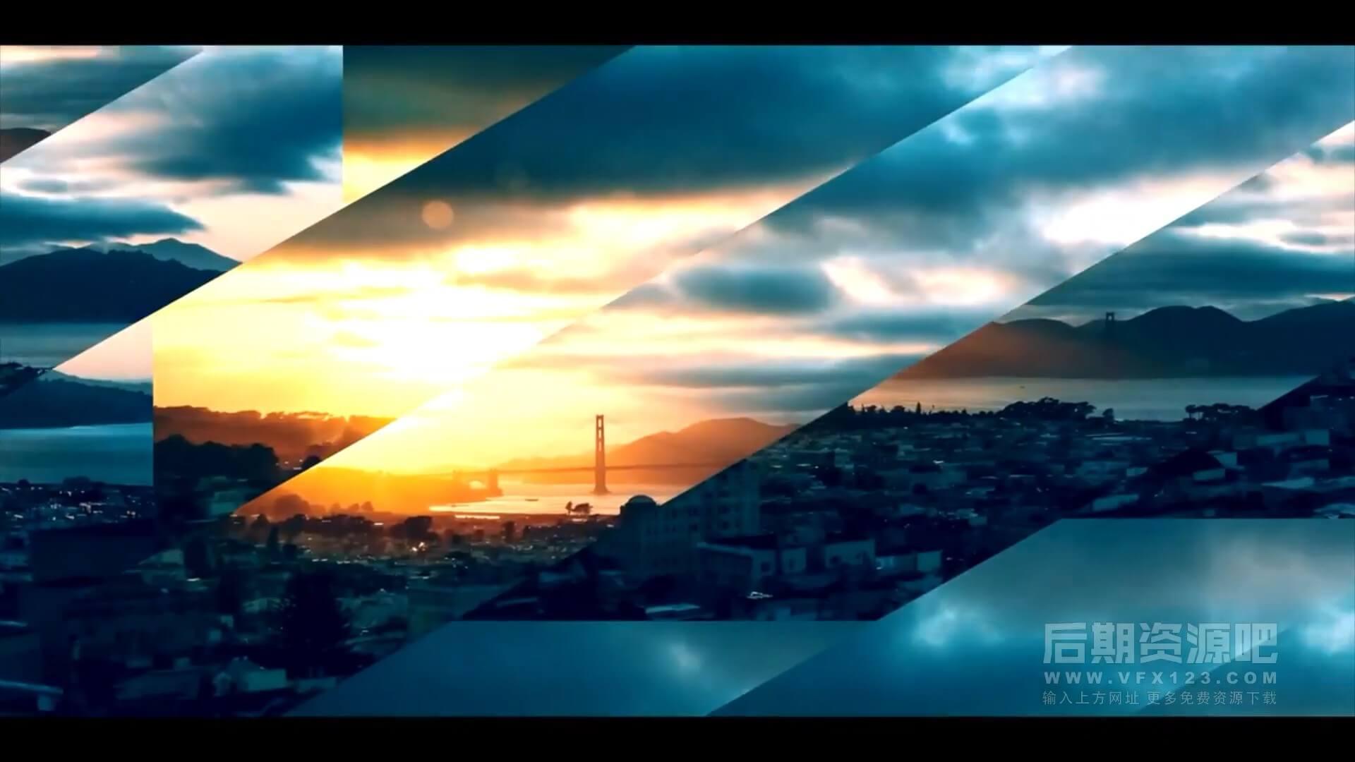 Fcpx转场插件 10组切割画面动画效果过渡转场预设 Cut Transitions