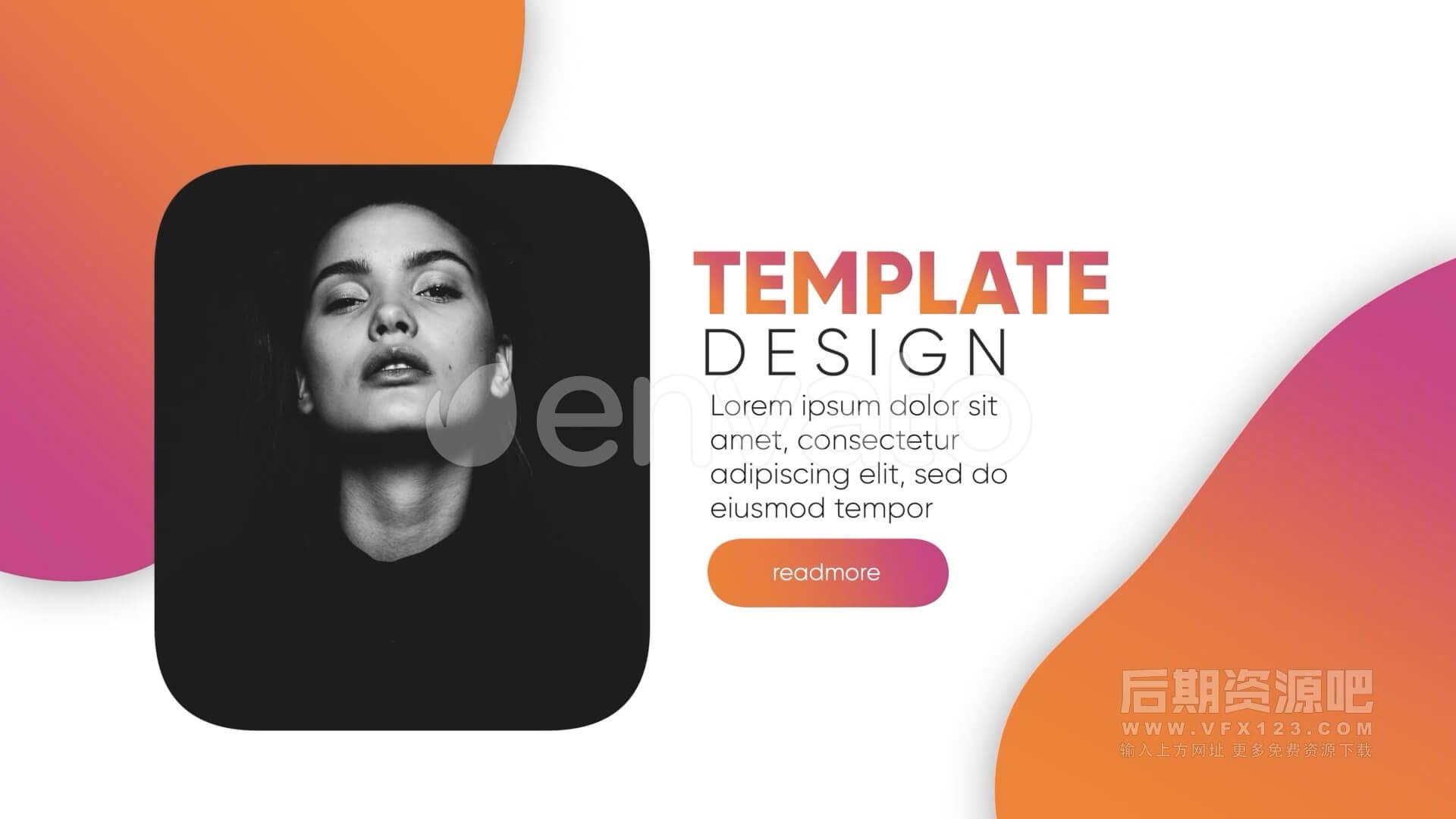 fcpx插件 现代简约图文版式包装模板 Typography Modern Pack
