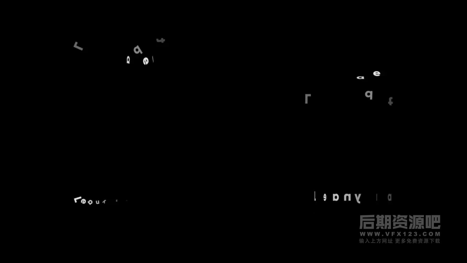 fcpx插件 50组简洁干净文字动画预设模板含进出场 Text Animations