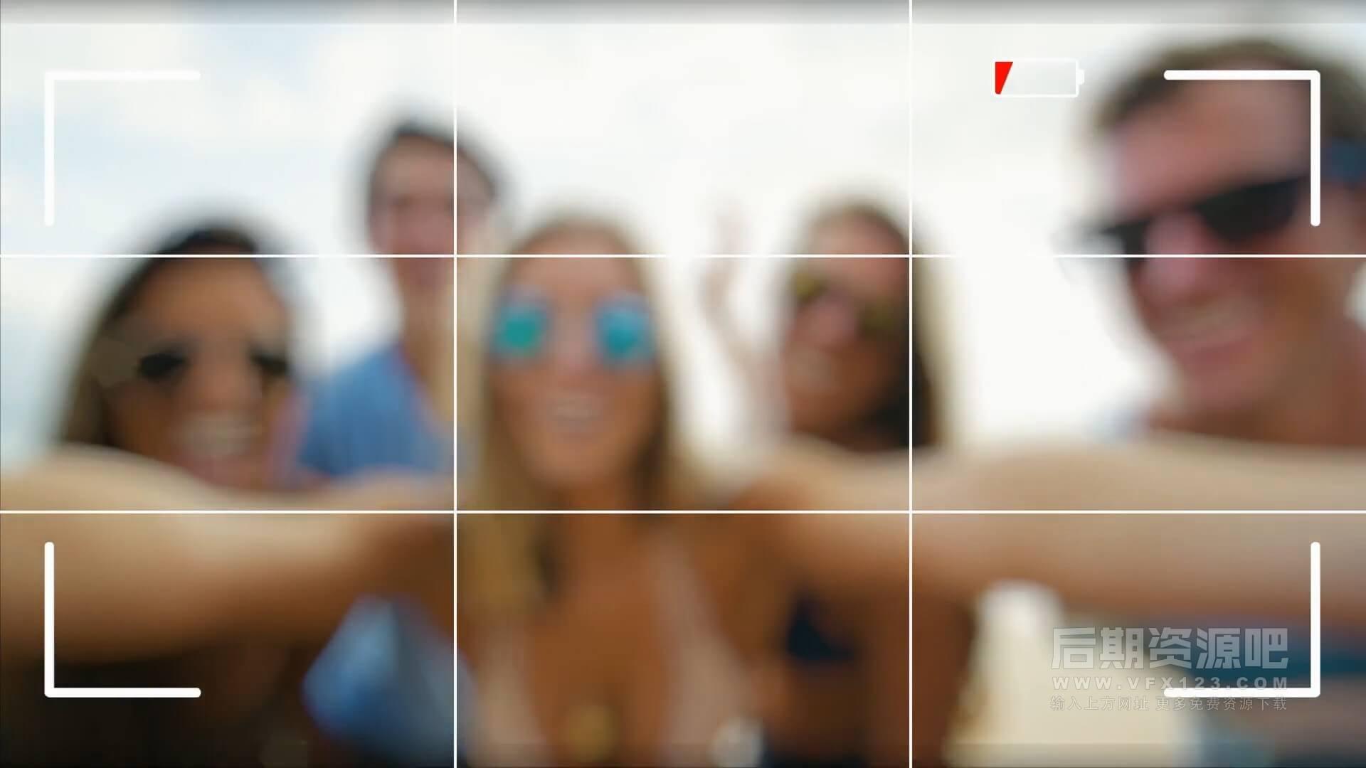FCPX特效插件 相机拍照取景框变焦特效插件 含音效素材 Camera Tools