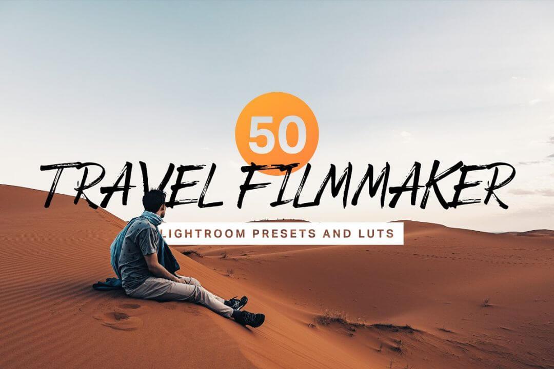 LUTs预设 50组旅行影片制作拍摄调色预设集合 Travel Filmmaker Presets